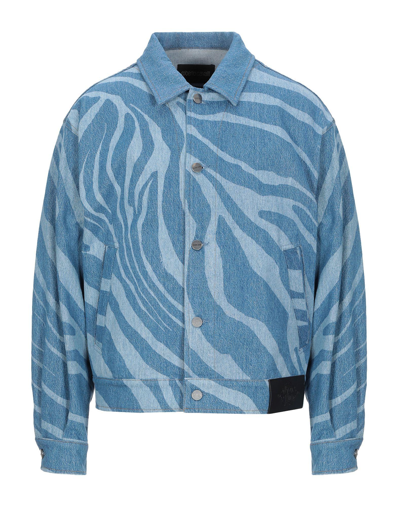 ROBERTO CAVALLI Джинсовая верхняя одежда just cavalli джинсовая верхняя одежда
