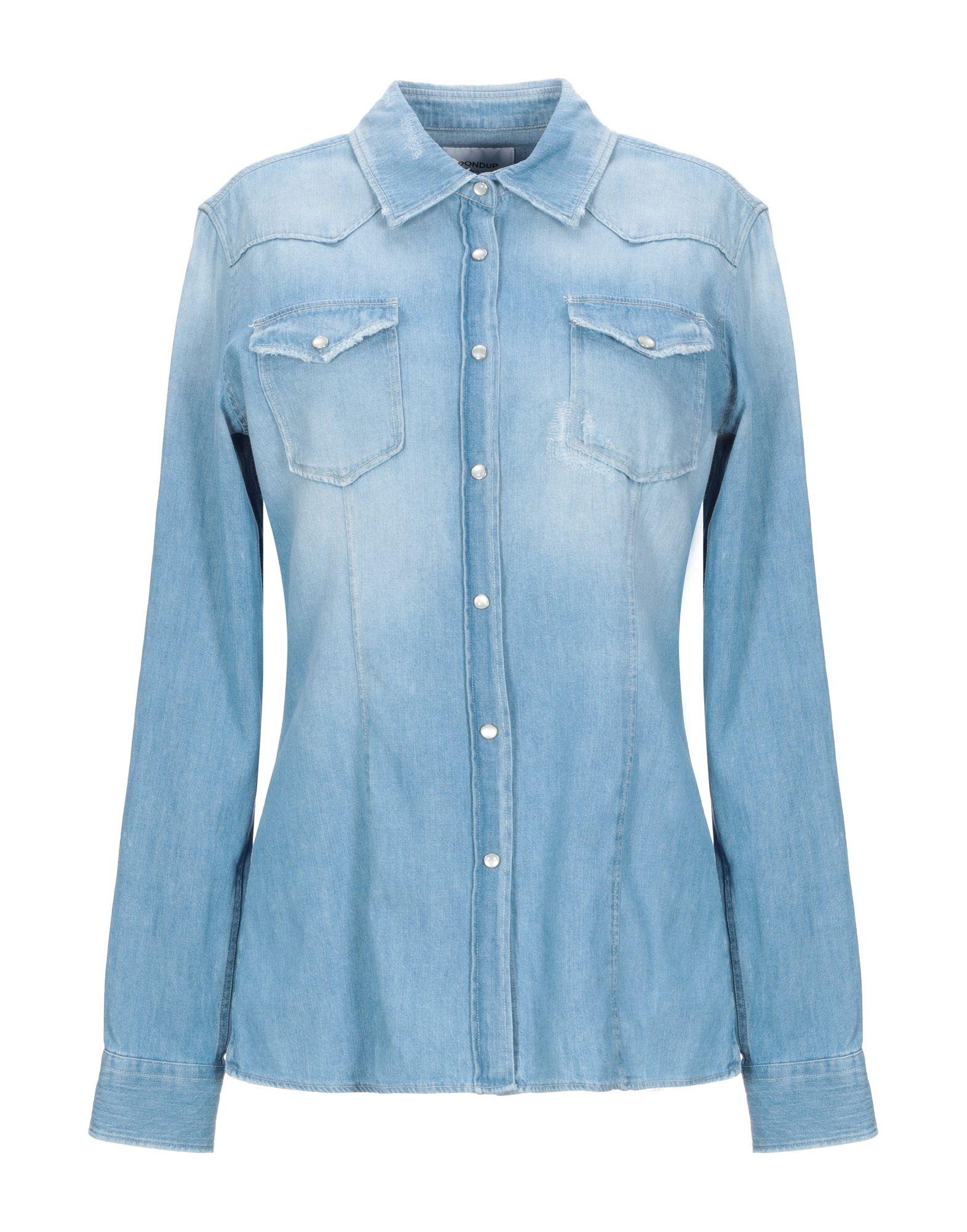 DONDUP Джинсовая рубашка dondup джинсовая рубашка