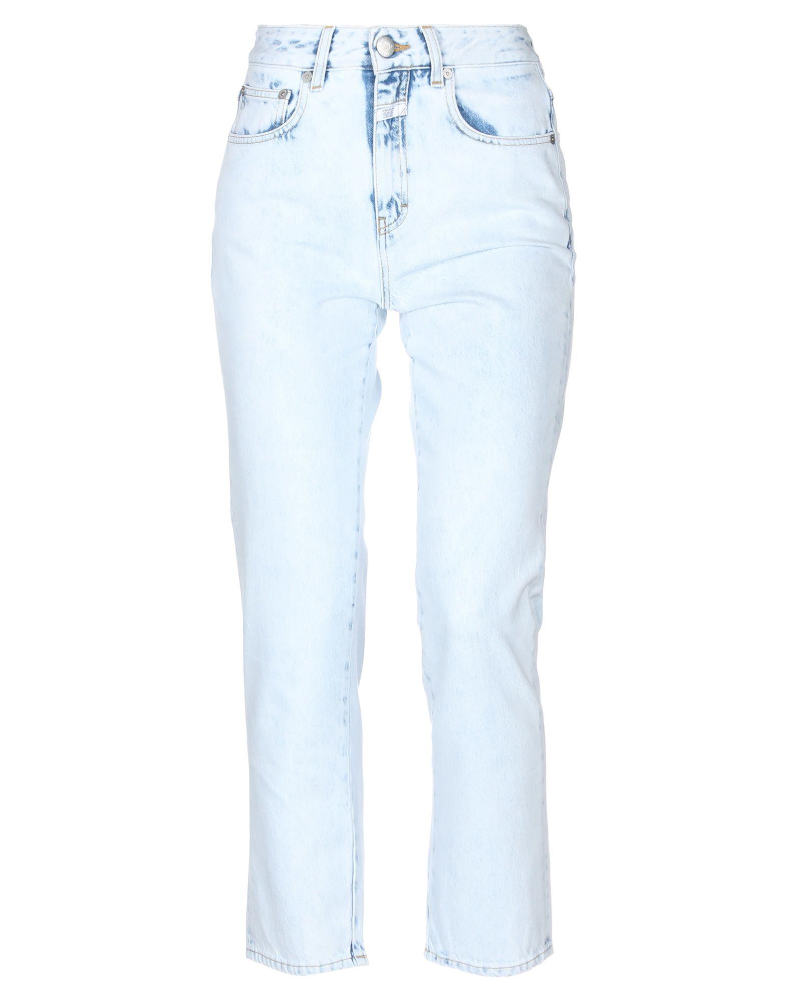 CLOSED Джинсовые брюки-капри closed ремень