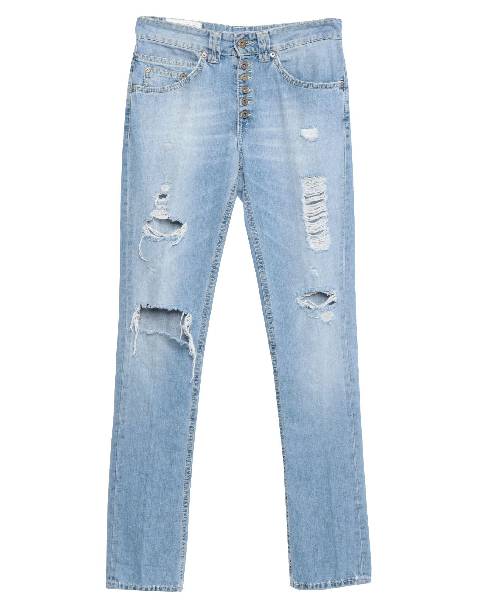 《セール開催中》DONDUP メンズ ジーンズ ブルー 25 コットン 100%