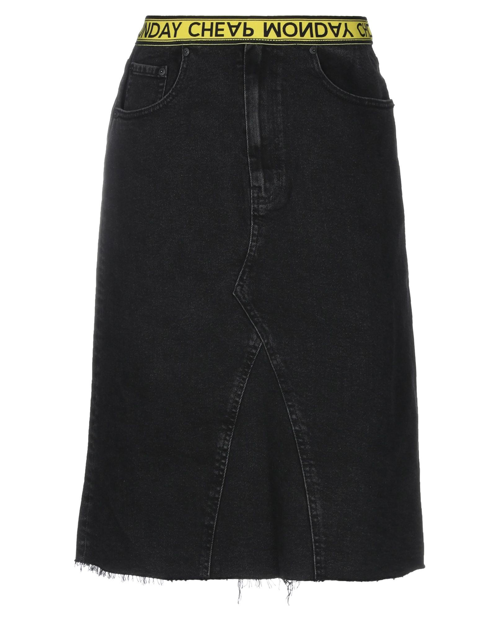 CHEAP MONDAY Джинсовая юбка cheap monday джинсовая верхняя одежда