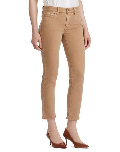 Фото 2 - Джинсовые брюки от LAUREN RALPH LAUREN цвет верблюжий