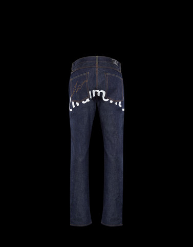 DENIM Dark blue Pants Man