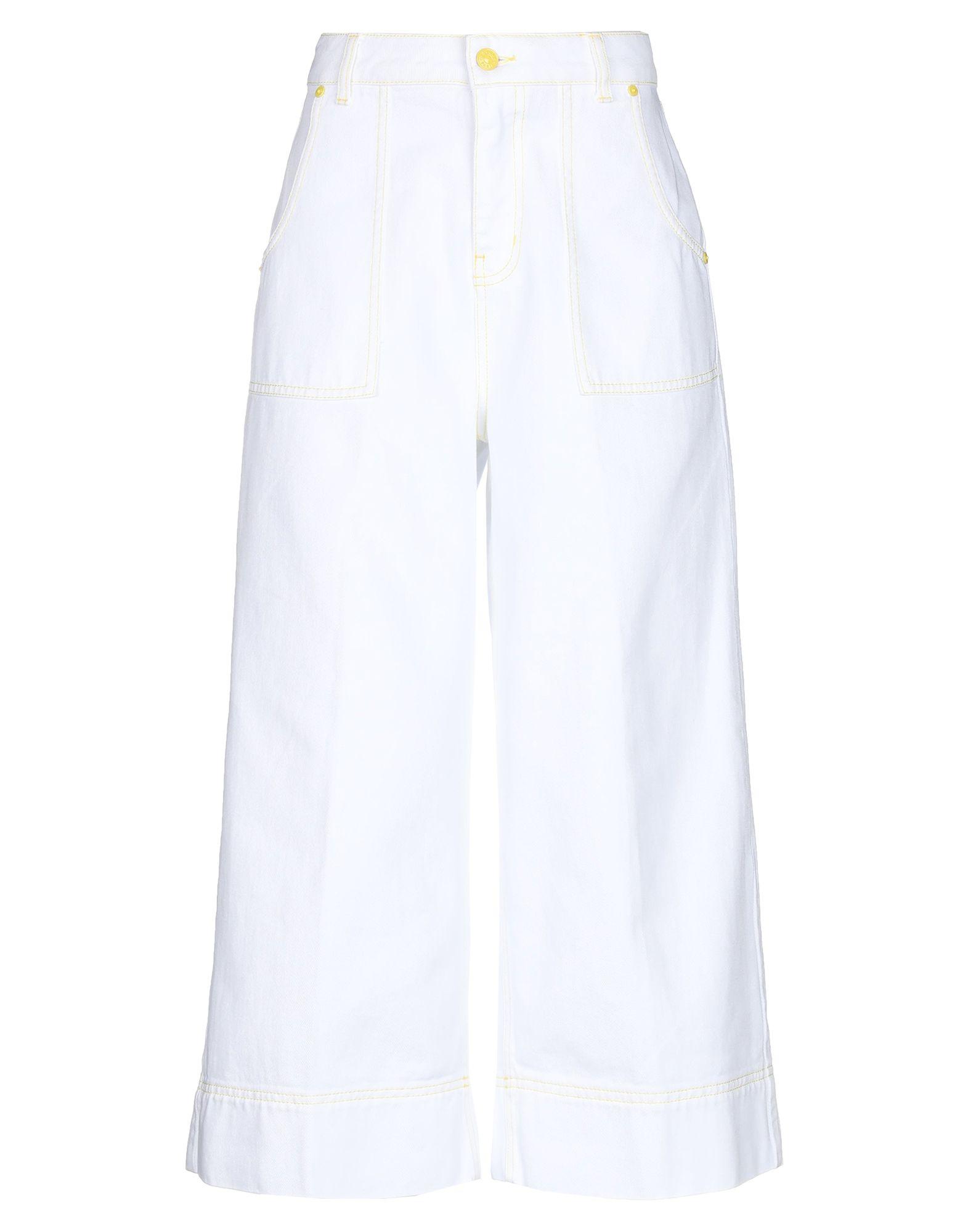 цены на GAëLLE Paris Джинсовые брюки-капри  в интернет-магазинах