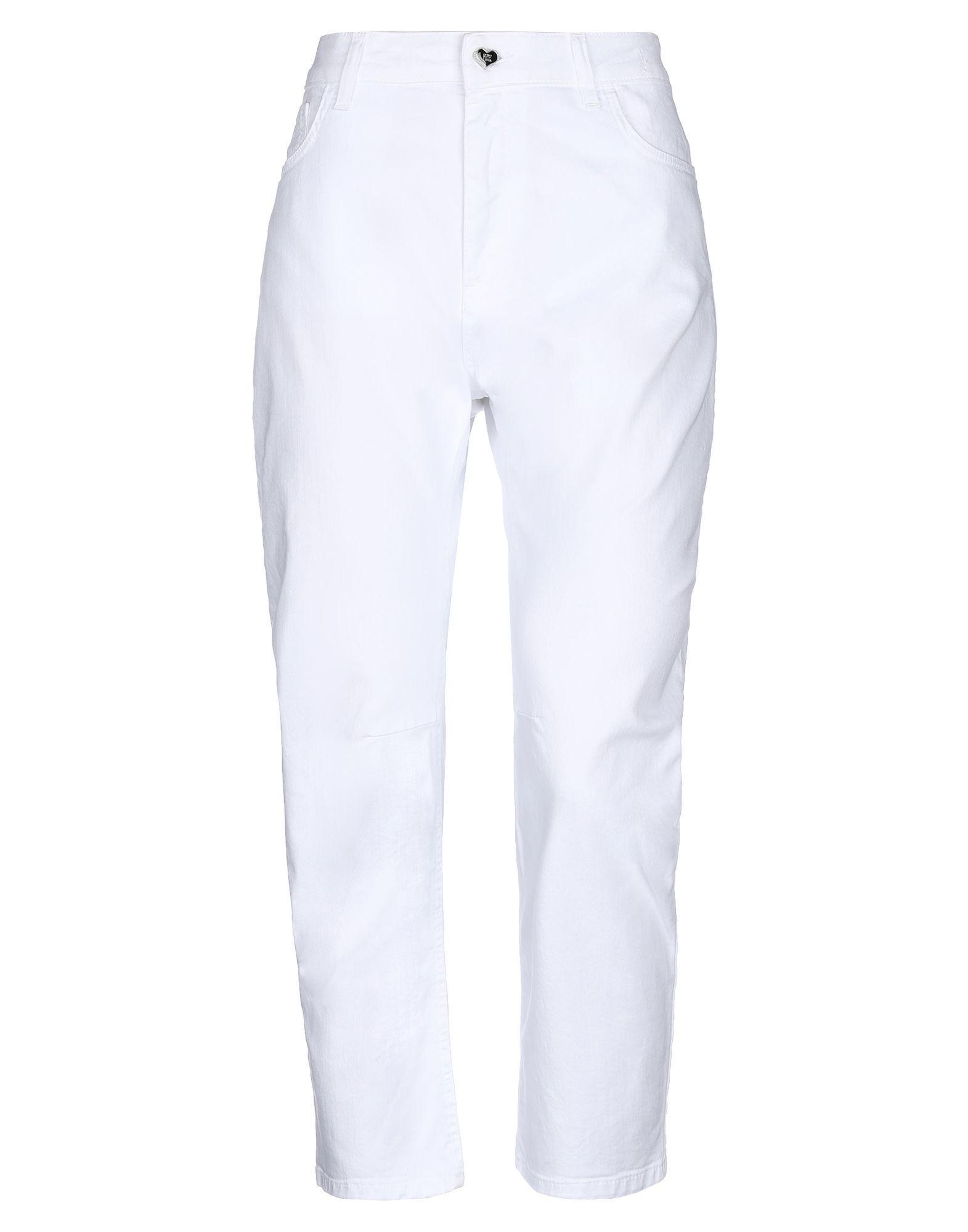 MY TWIN TWINSET Джинсовые брюки-капри цена 2017