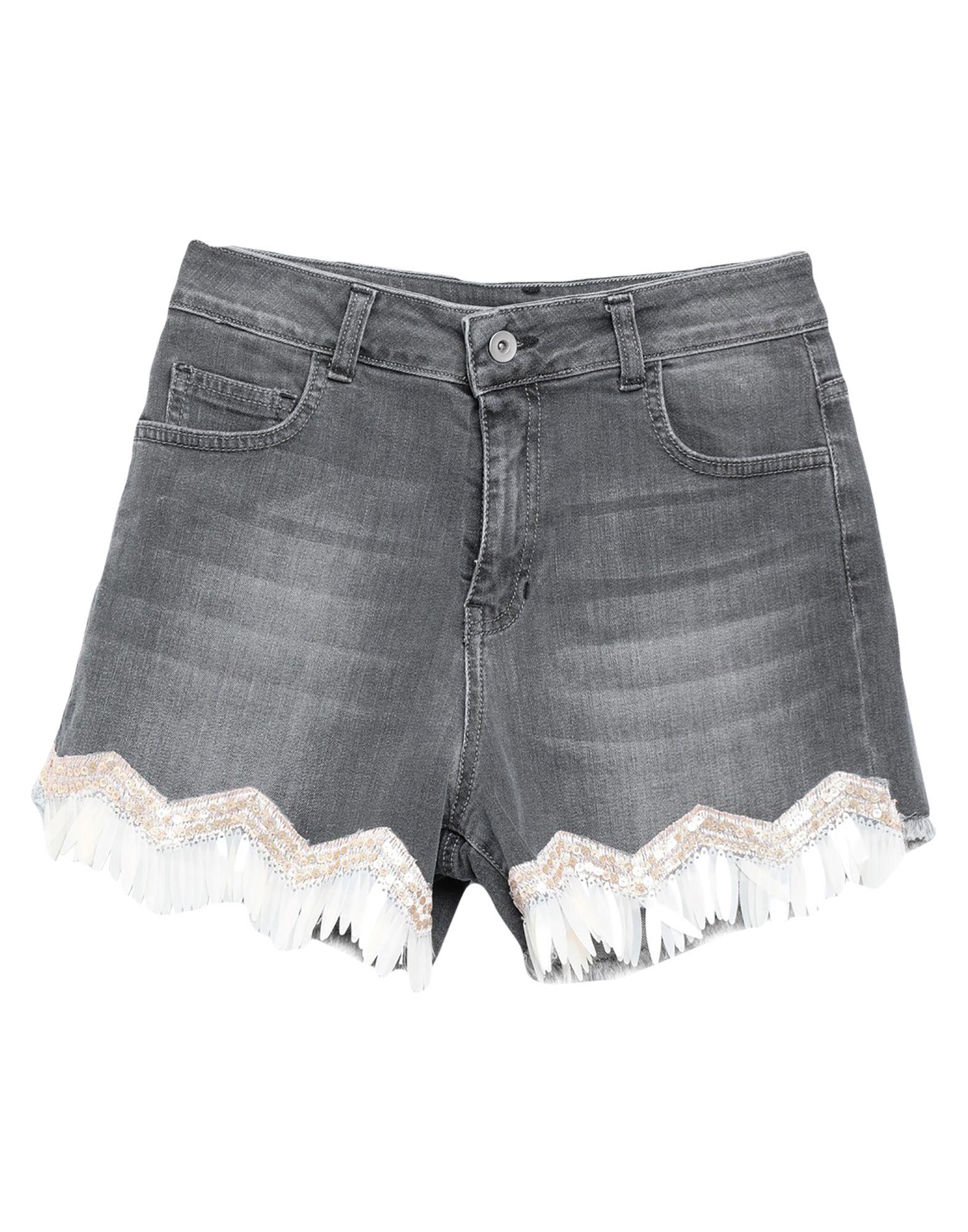 LE VOLIÈRE Джинсовые шорты le volière джинсовые брюки