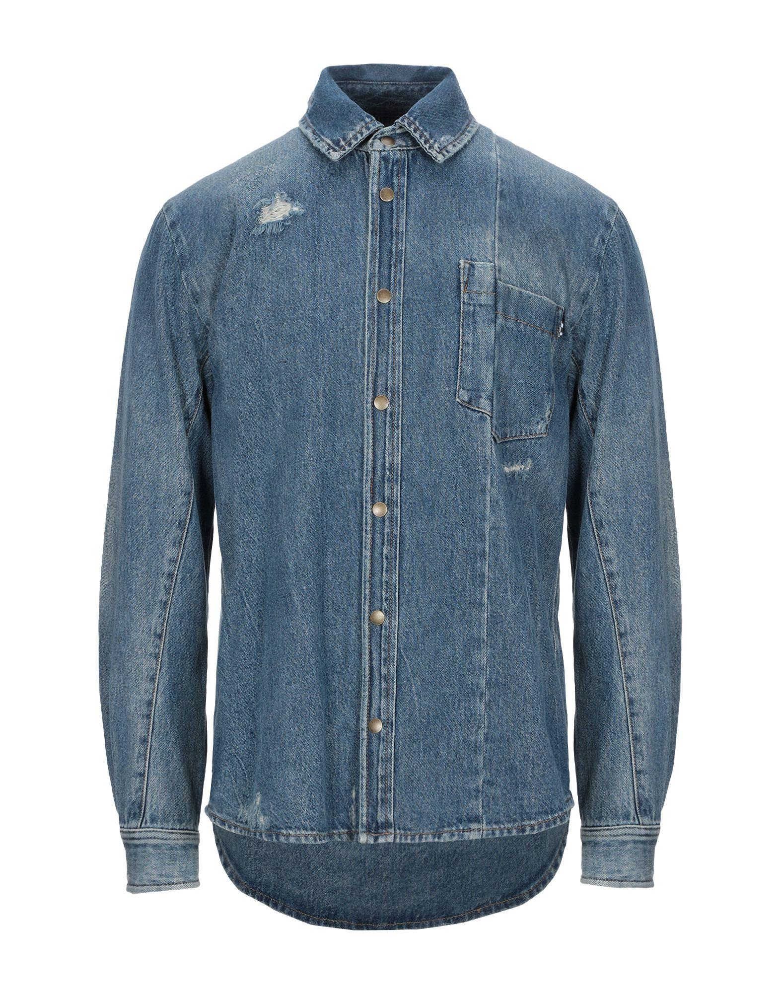 рубашка alexander mcqueen рубашка McQ Alexander McQueen Джинсовая рубашка