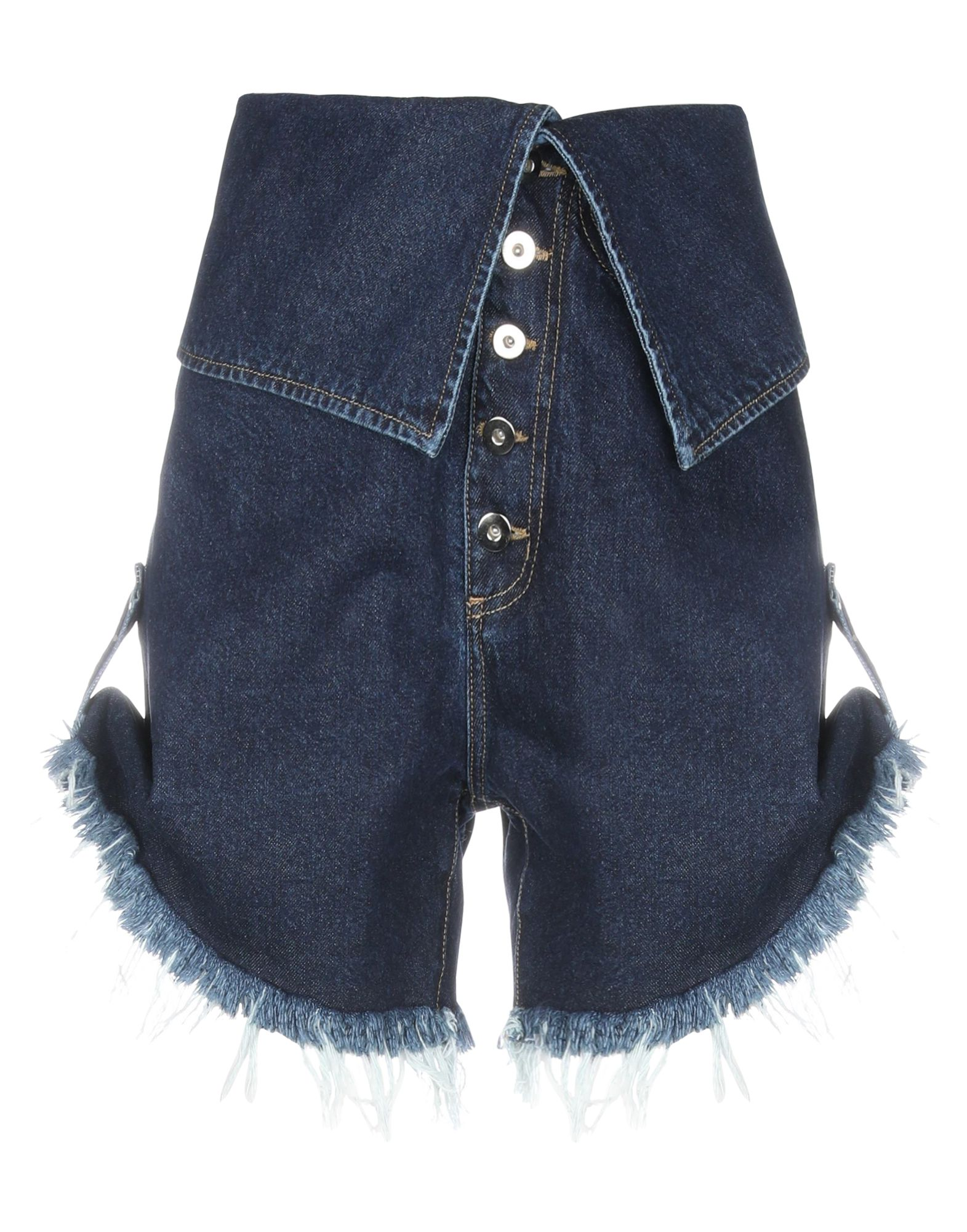 MARQUES' ALMEIDA Джинсовые шорты marques almeida корсет из денима