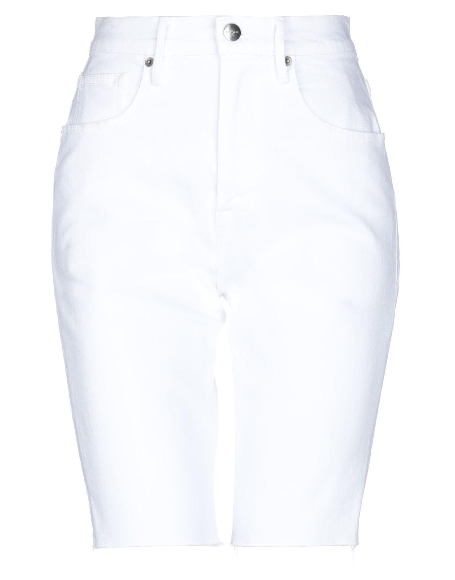 FRAME Джинсовые брюки-капри frame джинсовые брюки
