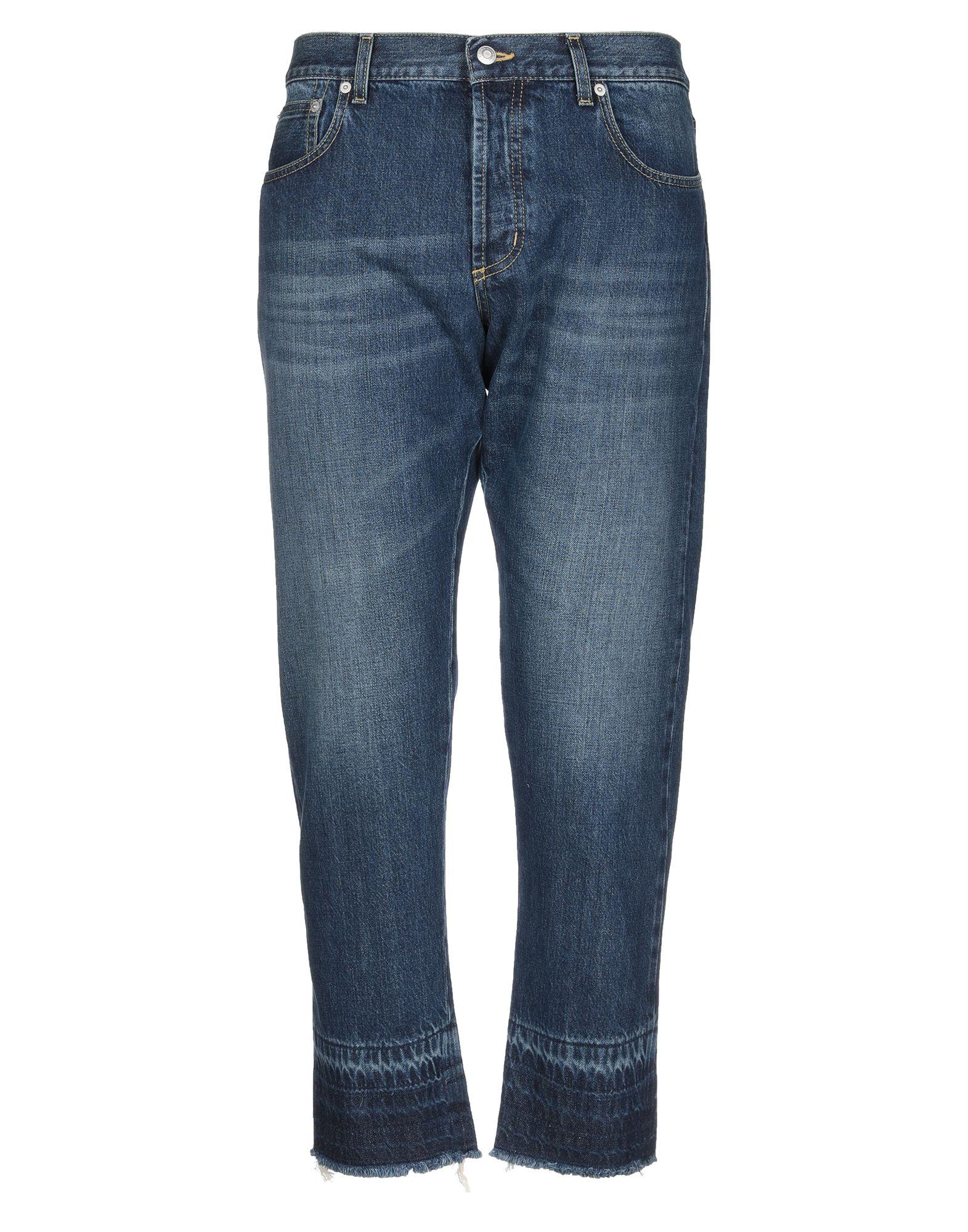 ALEXANDER MCQUEEN Denim pants - Item 42767997
