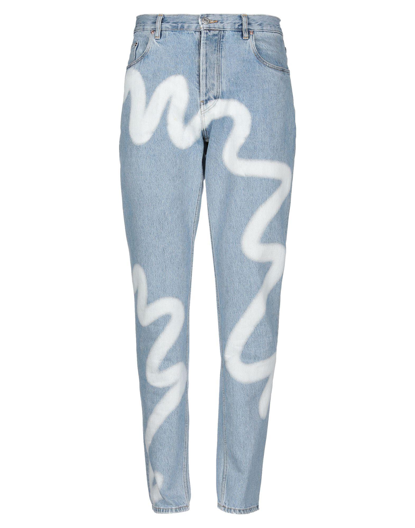 MARTINE ROSE Джинсовые брюки