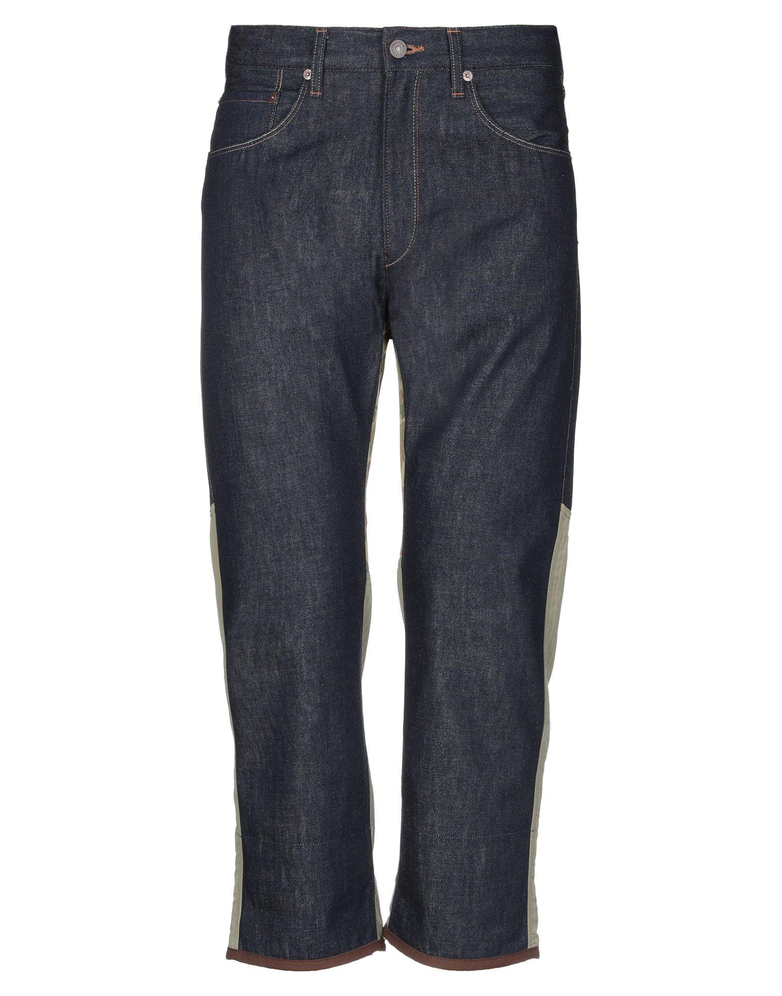 цена JUNYA WATANABE COMME des GARÇONS MAN X LEVI'S Джинсовые брюки онлайн в 2017 году