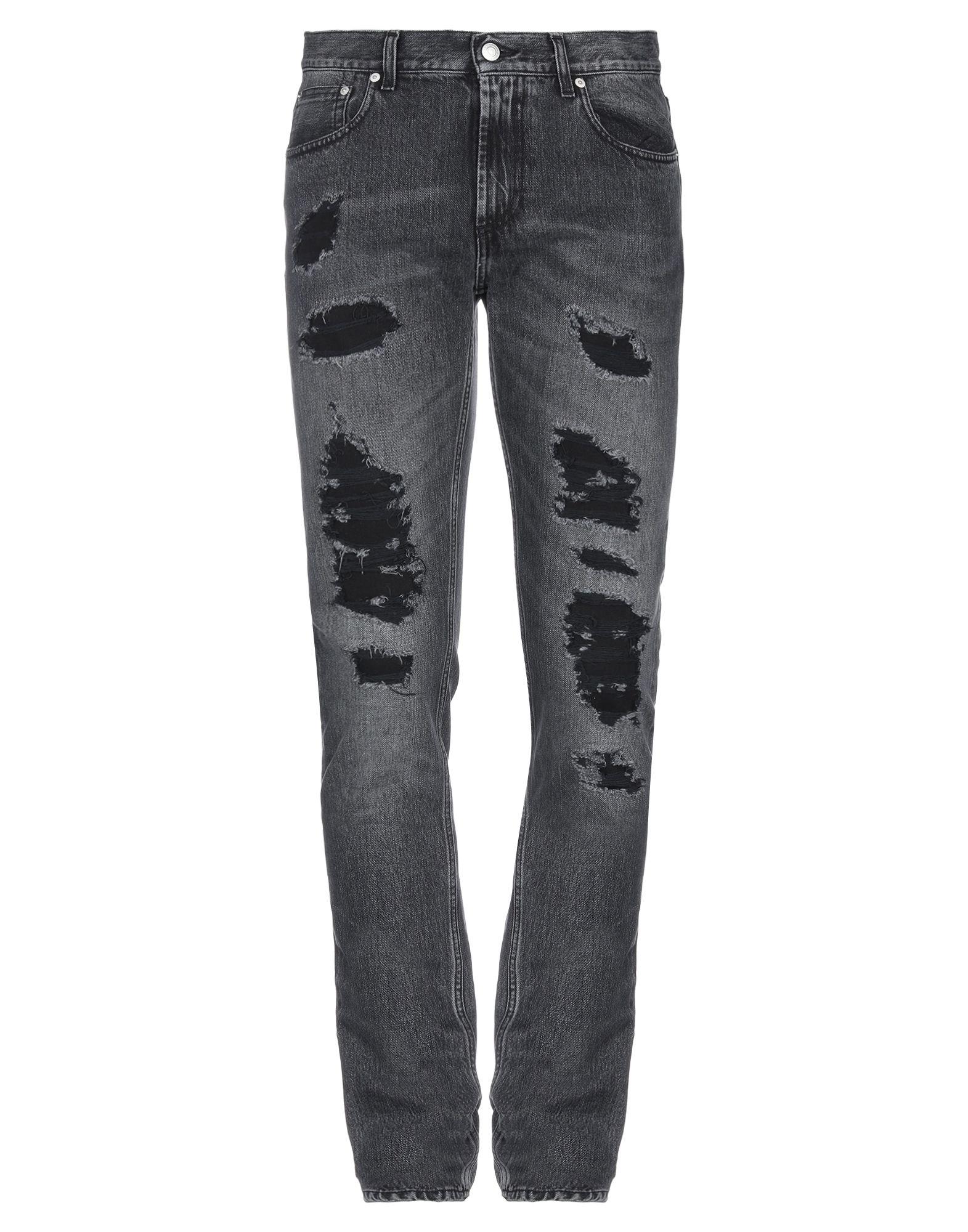 ALEXANDER MCQUEEN Denim pants - Item 42768156