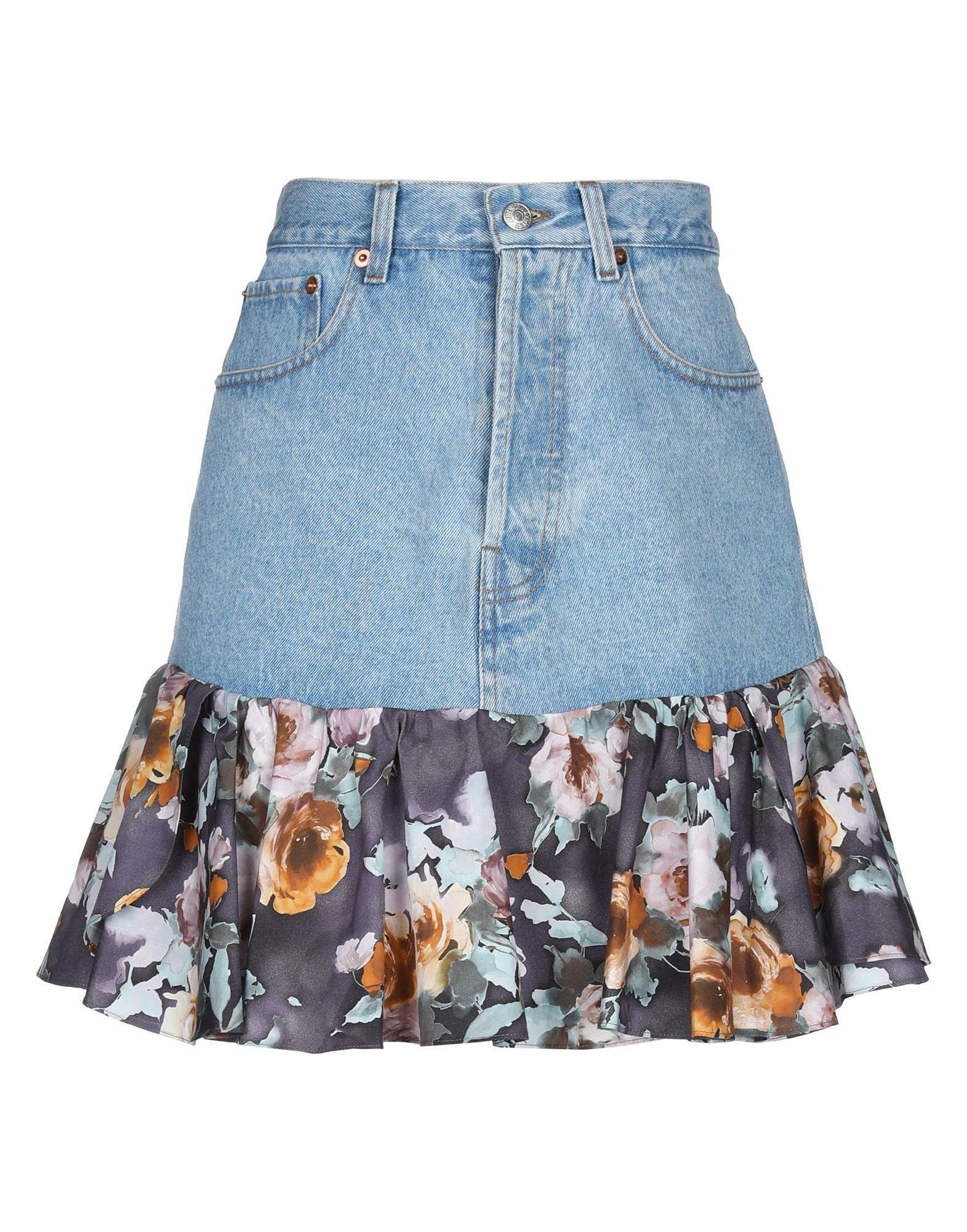 цены FORTE DEI MARMI COUTURE Джинсовая юбка