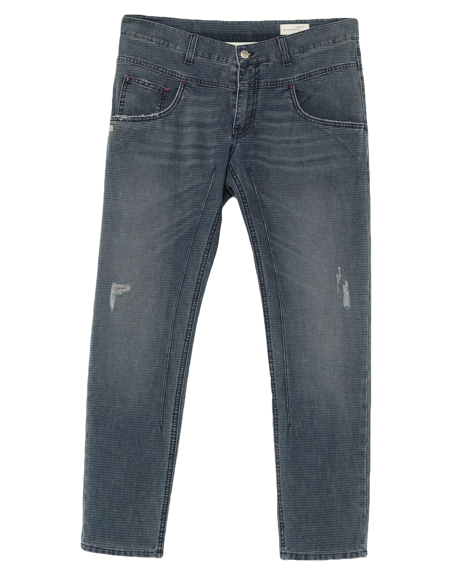 DANIELE ALESSANDRINI Джинсовые брюки цена 2017