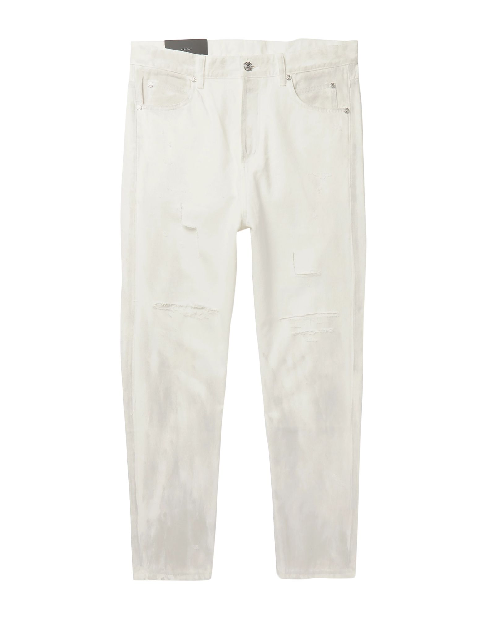 《セール開催中》BALMAIN メンズ ジーンズ ホワイト 29 コットン 100%