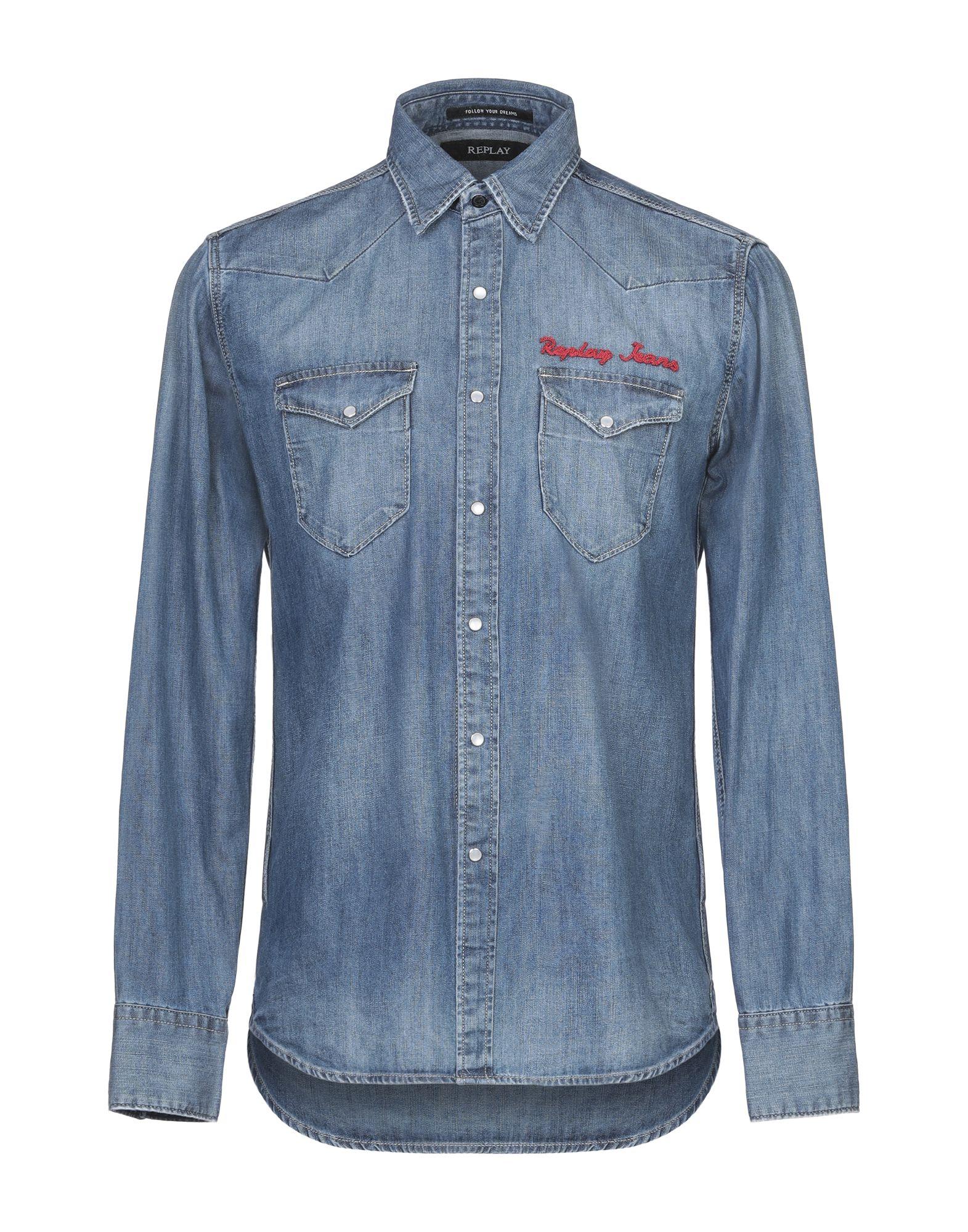 REPLAY Джинсовая рубашка