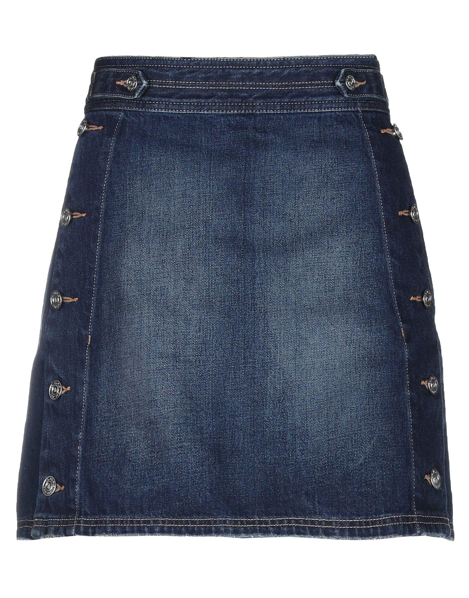 CURRENT/ELLIOTT Джинсовая юбка