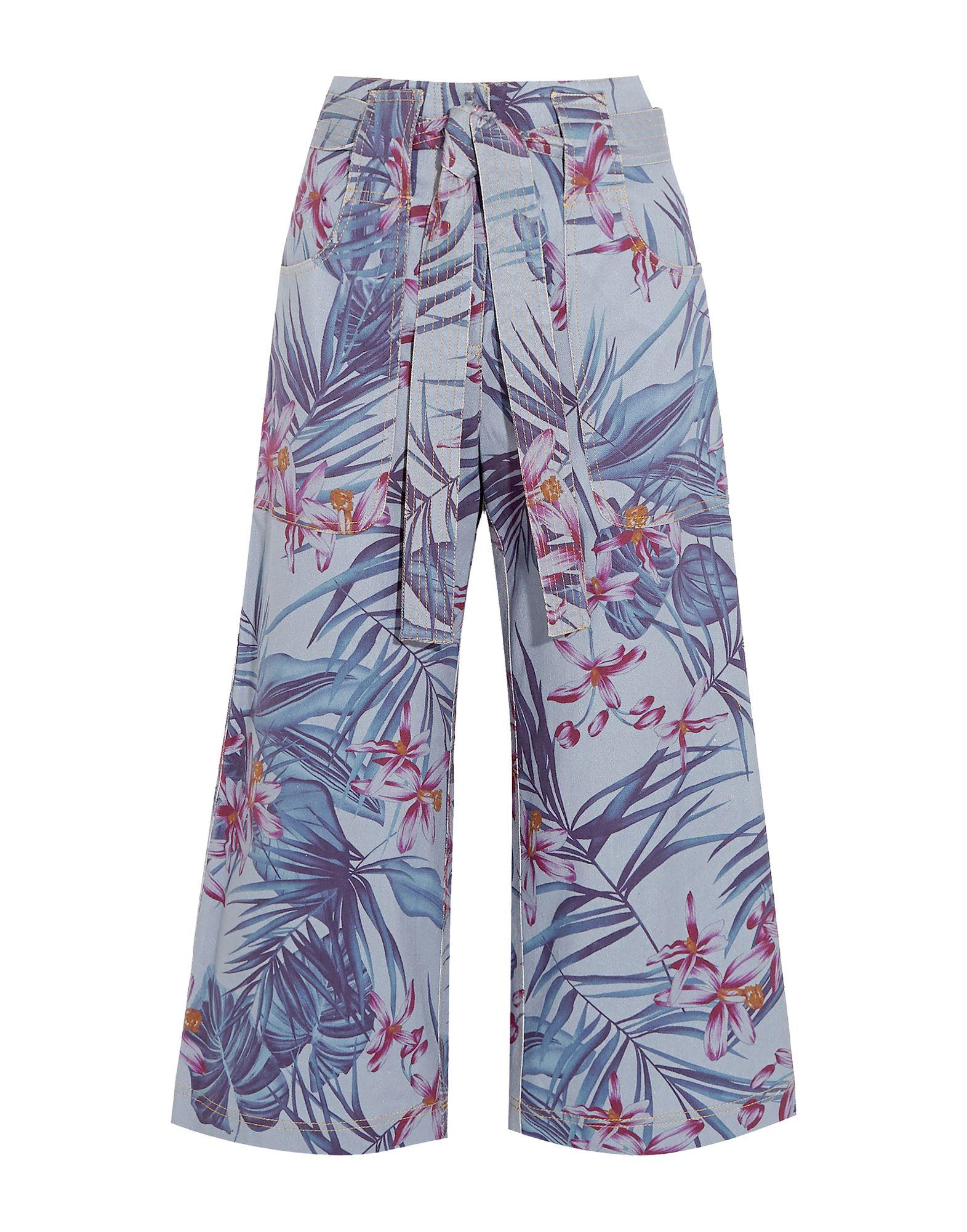 SUNO Джинсовые брюки-капри