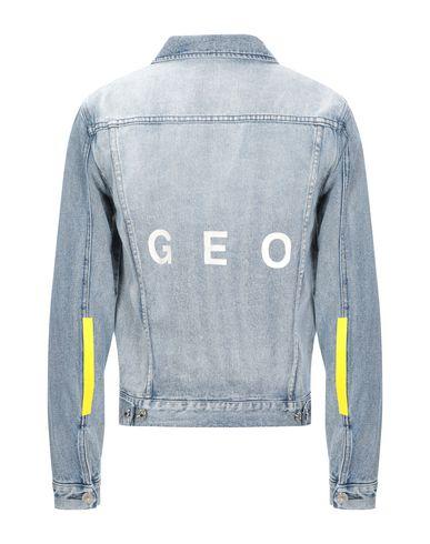 Фото 2 - Джинсовая верхняя одежда от GEO синего цвета