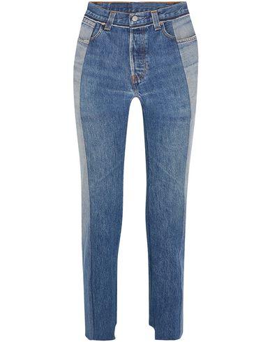 Джинсовые брюки VETEMENTS x LEVI'S 42771749HW
