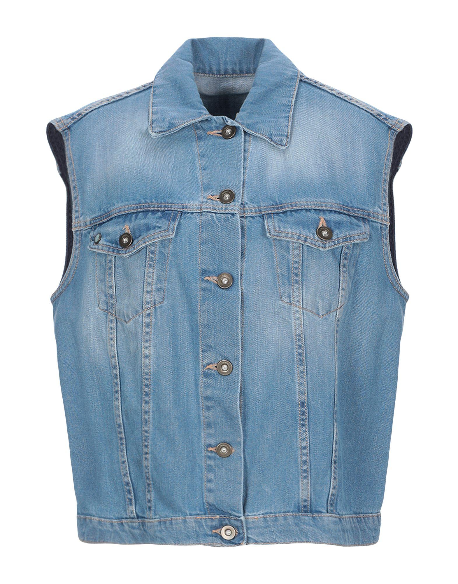 ..,MERCI Джинсовая верхняя одежда merci джинсовая верхняя одежда