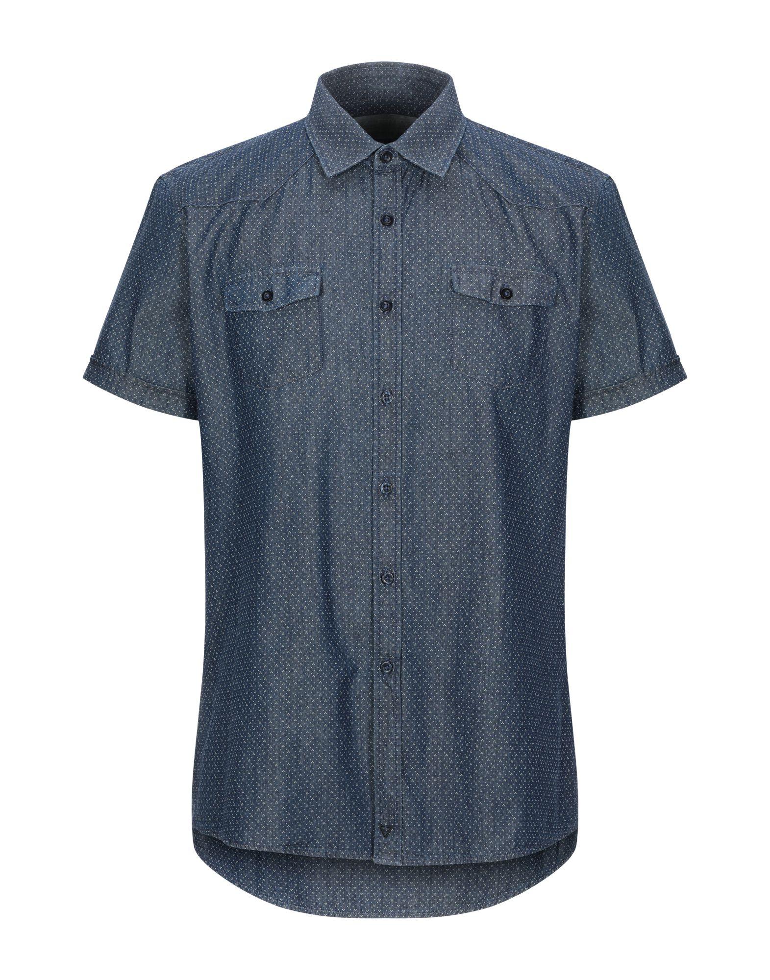 Фото - FIFTY FOUR Джинсовая рубашка футболка fifty four dhaka белый