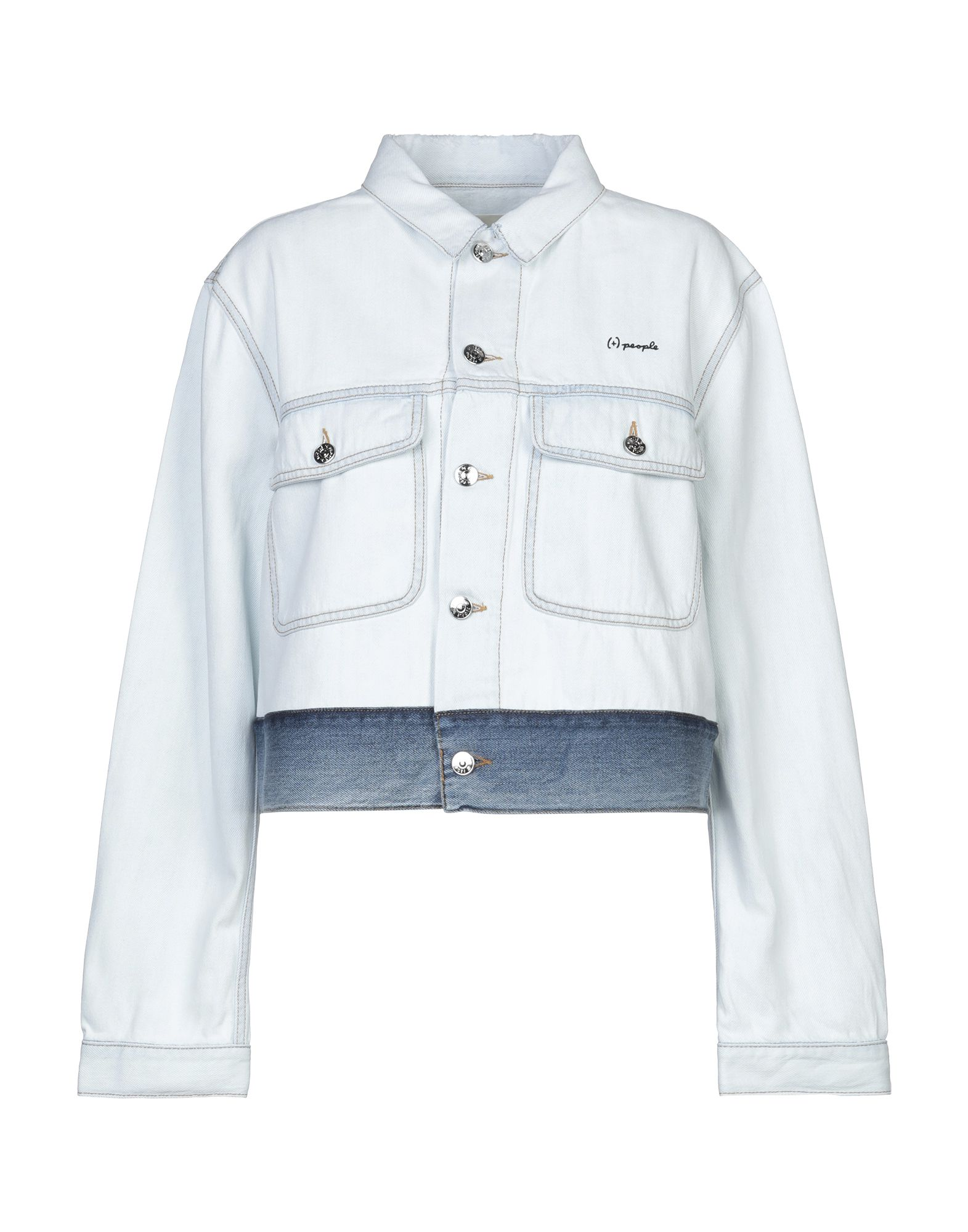 (+) PEOPLE Джинсовая верхняя одежда