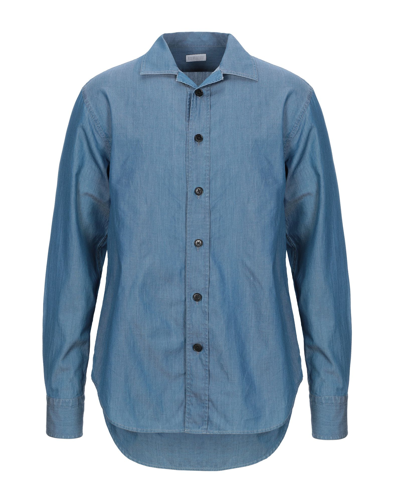HARRIS WHARF LONDON Джинсовая рубашка рубашка burton menswear london burton menswear london bu014emgaig6