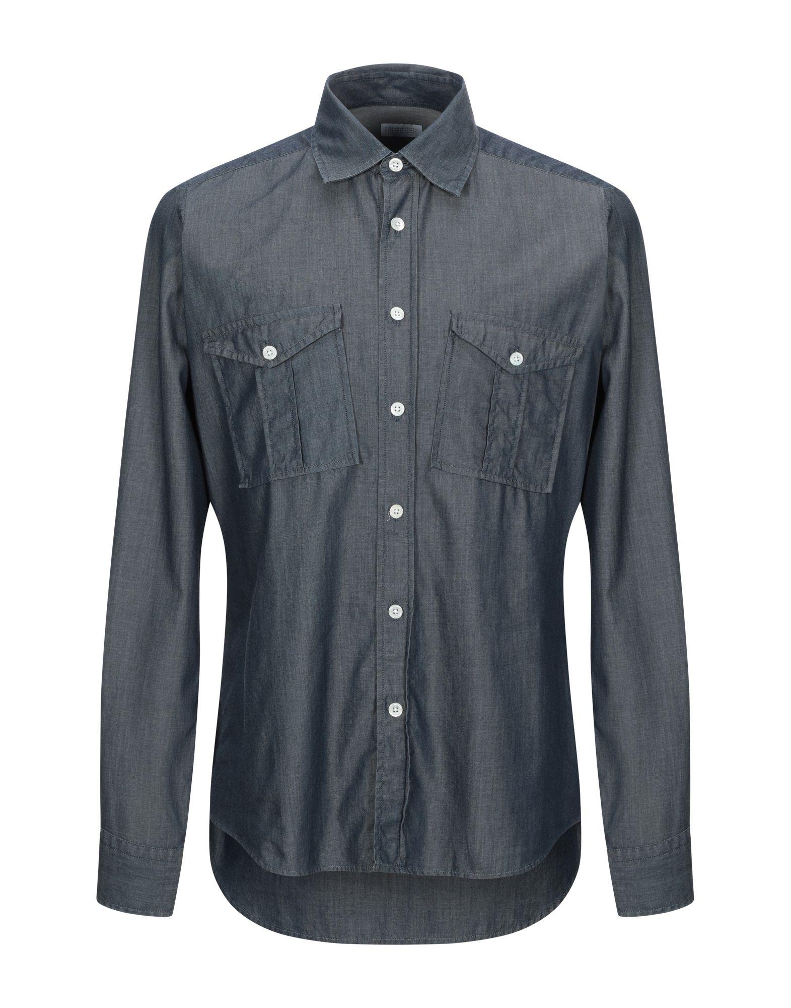 HARRIS WHARF LONDON Джинсовая рубашка