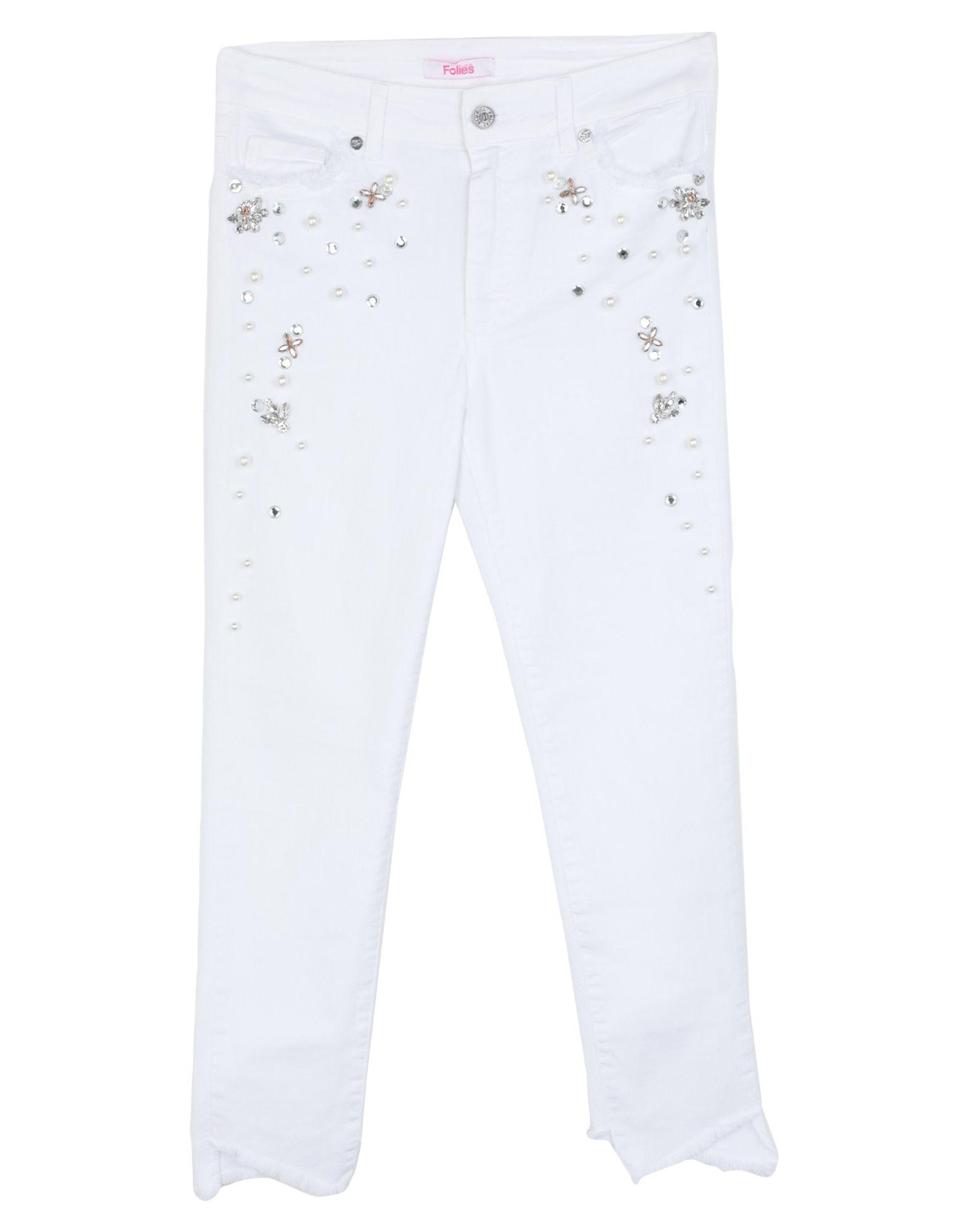 цена на BLUGIRL FOLIES Джинсовые брюки