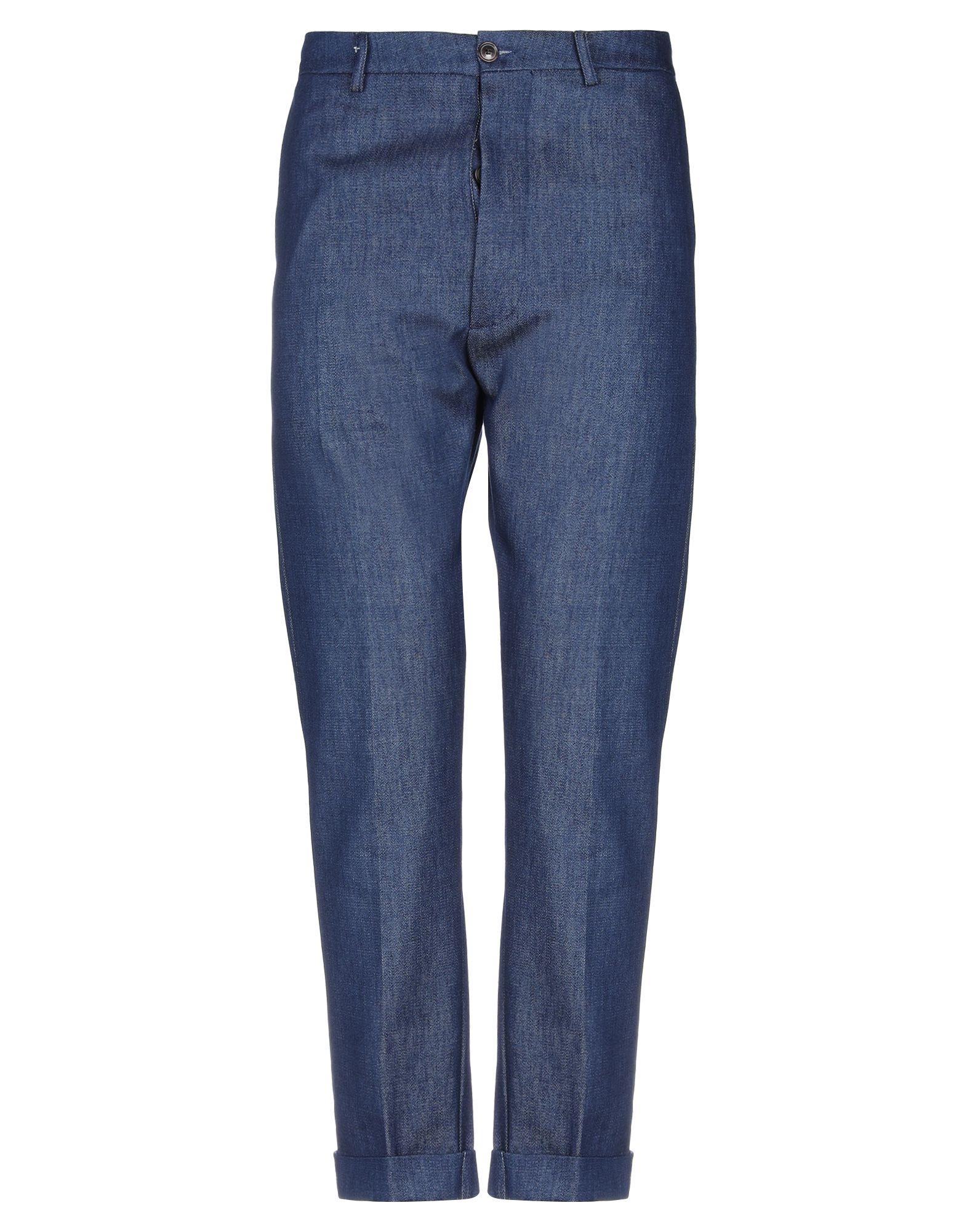 LA SARTORIA Джинсовые брюки цена 2017