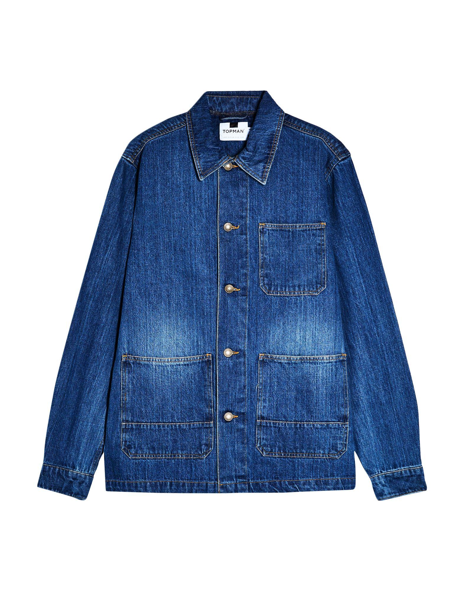TOPMAN Джинсовая верхняя одежда topman джинсовая верхняя одежда