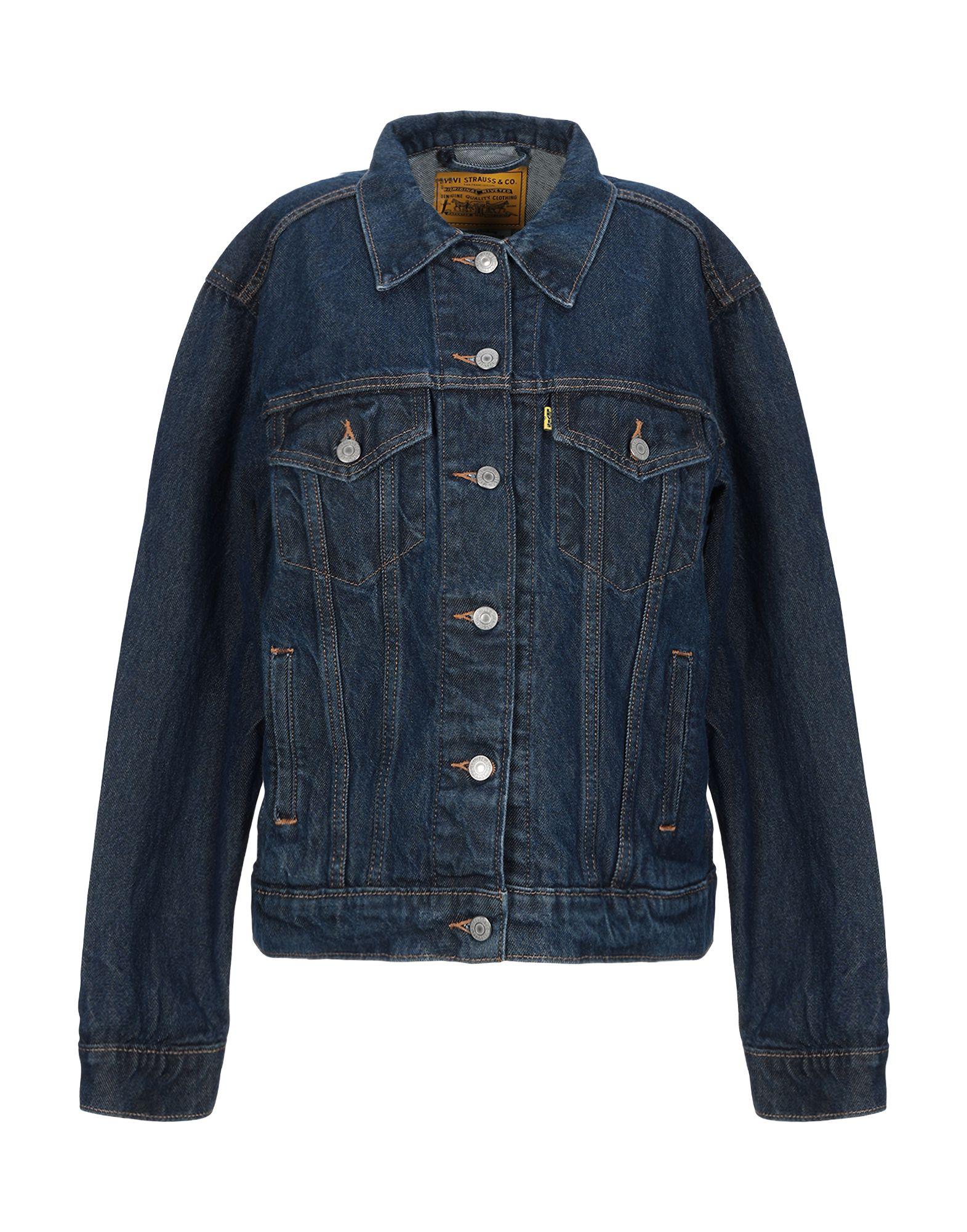 LEVI' S Джинсовая верхняя одежда джинсы женские levi s® 501 skinny цвет темно синий 2950200330 размер 27 30 44 30