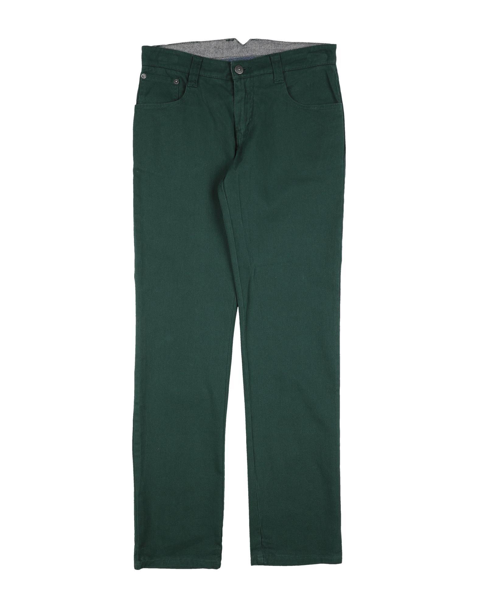 Hackett Kids' Casual Pants In Green
