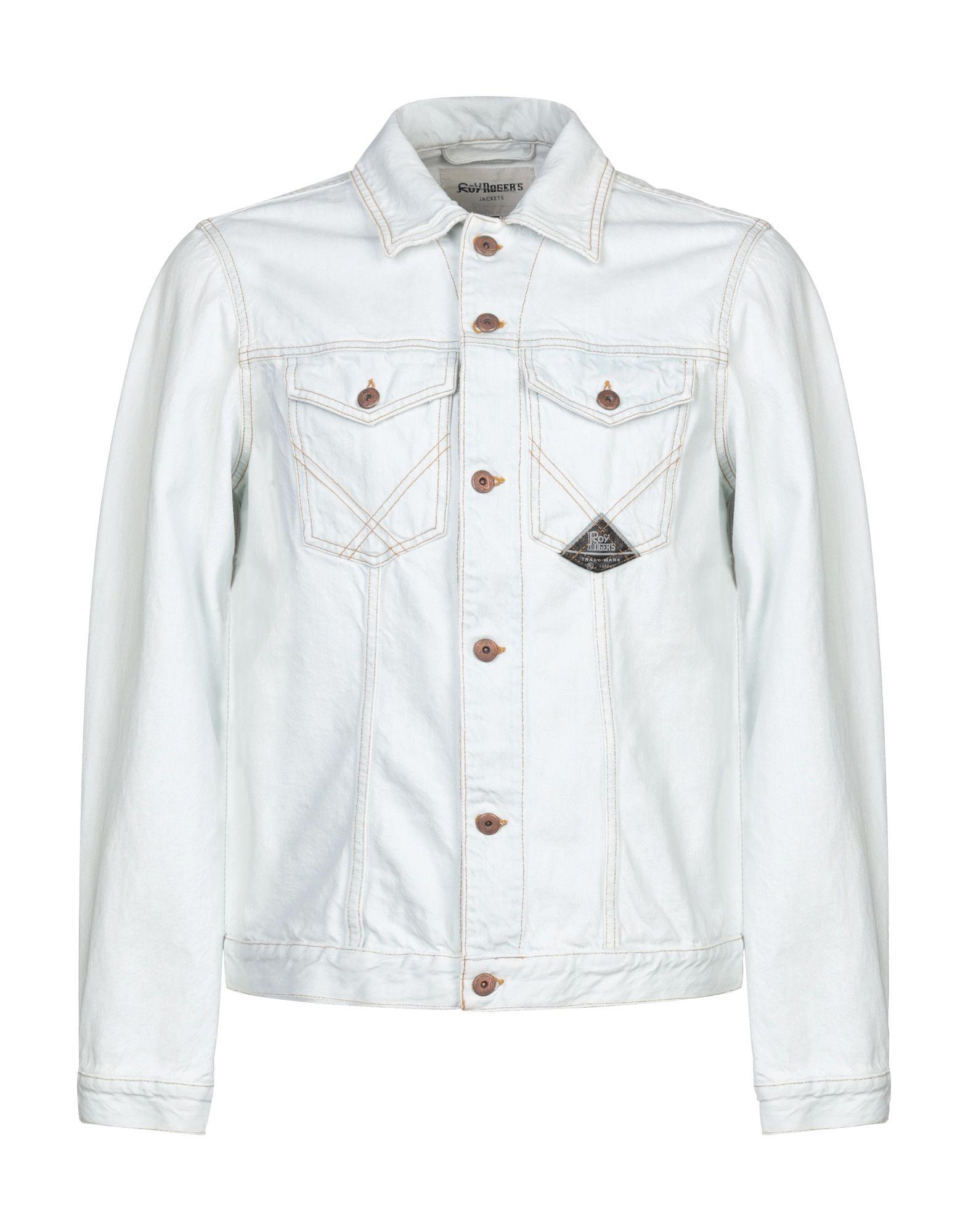 ROŸ ROGER'S Джинсовая верхняя одежда