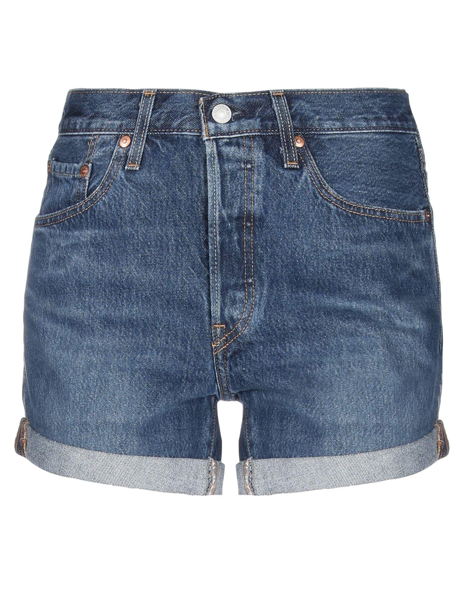 LEVI' S Джинсовые шорты джинсы женские levi s® 501 skinny цвет темно синий 2950200330 размер 27 30 44 30