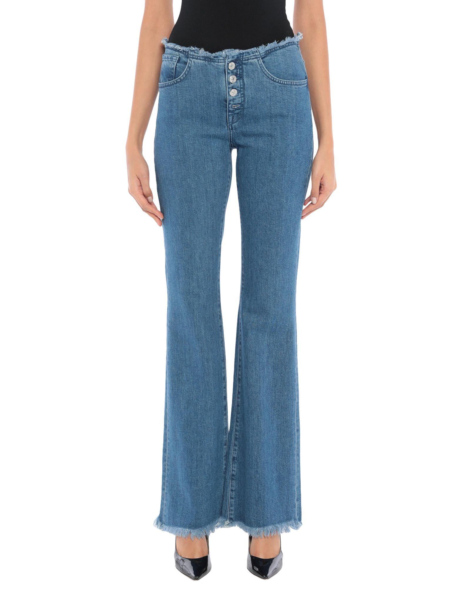MARQUES' ALMEIDA x 7 FOR ALL MANKIND Джинсовые брюки marques almeida x yoox толстовка