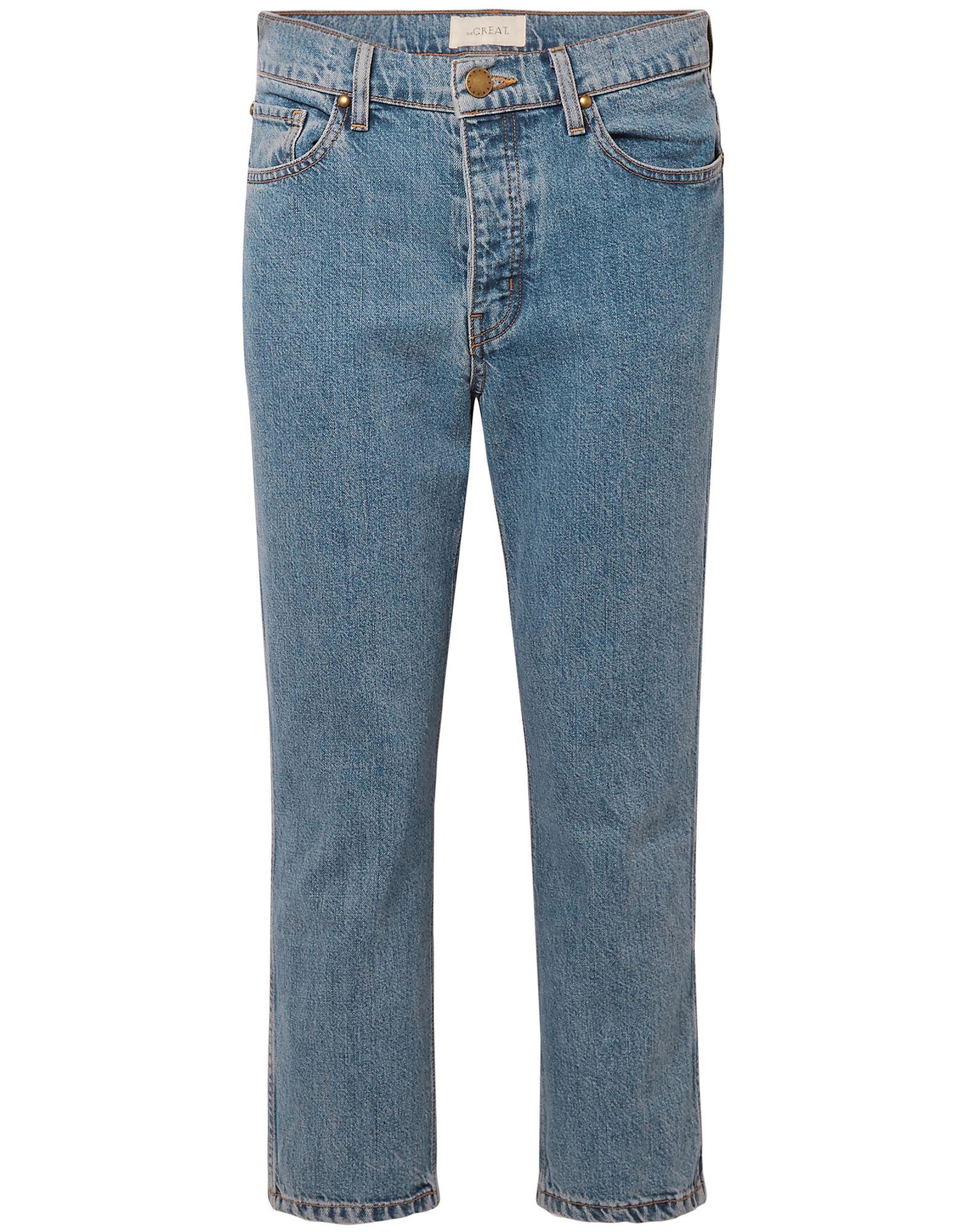 the great джинсовые брюки THE GREAT. Джинсовые брюки