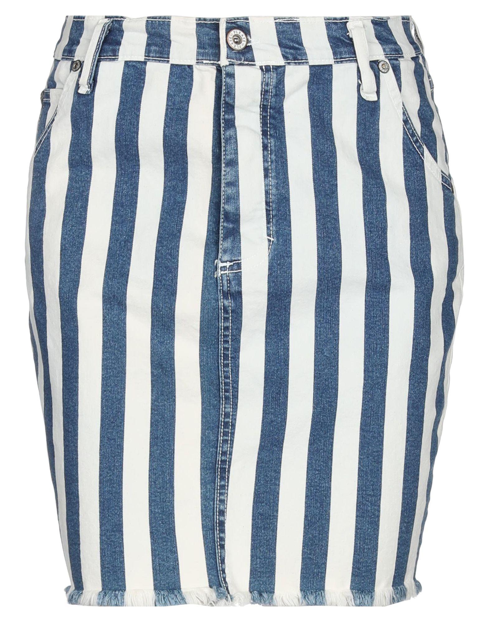 PLEASE Джинсовая юбка цены онлайн