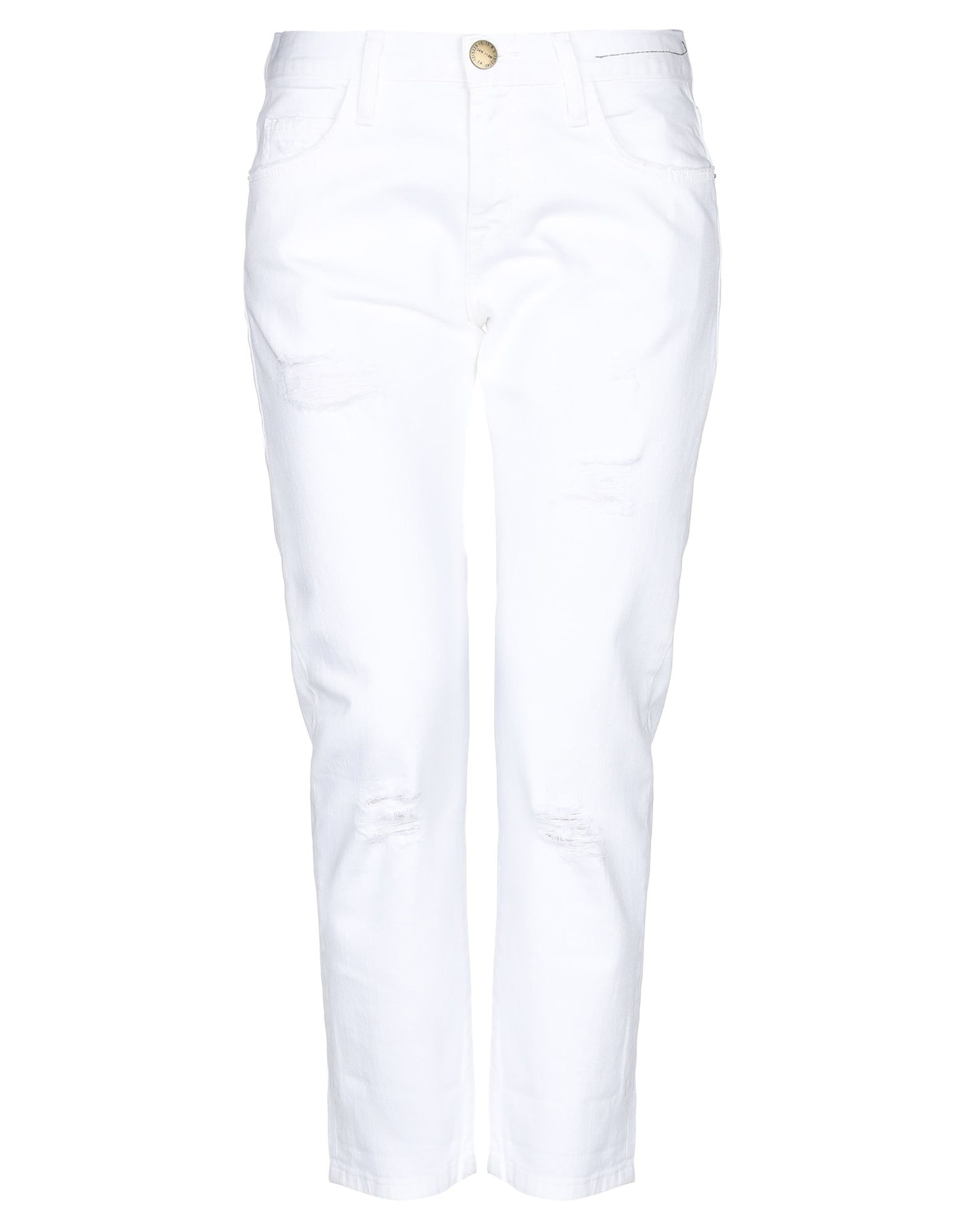 CURRENT/ELLIOTT Джинсовые брюки-капри цена 2017