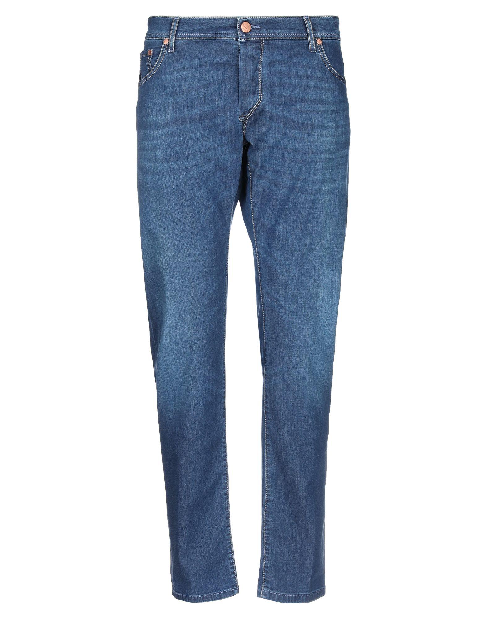 BARBA Napoli Denim pants - Item 42776758