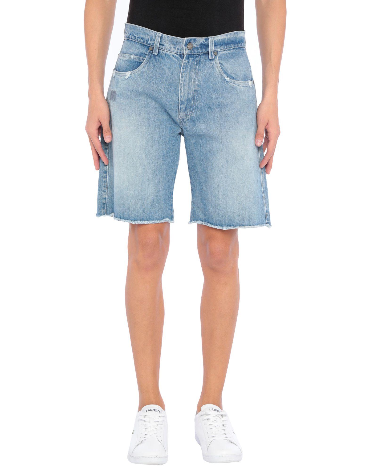 《セール開催中》BONSAI メンズ デニムバミューダパンツ ブルー 31 コットン 100%