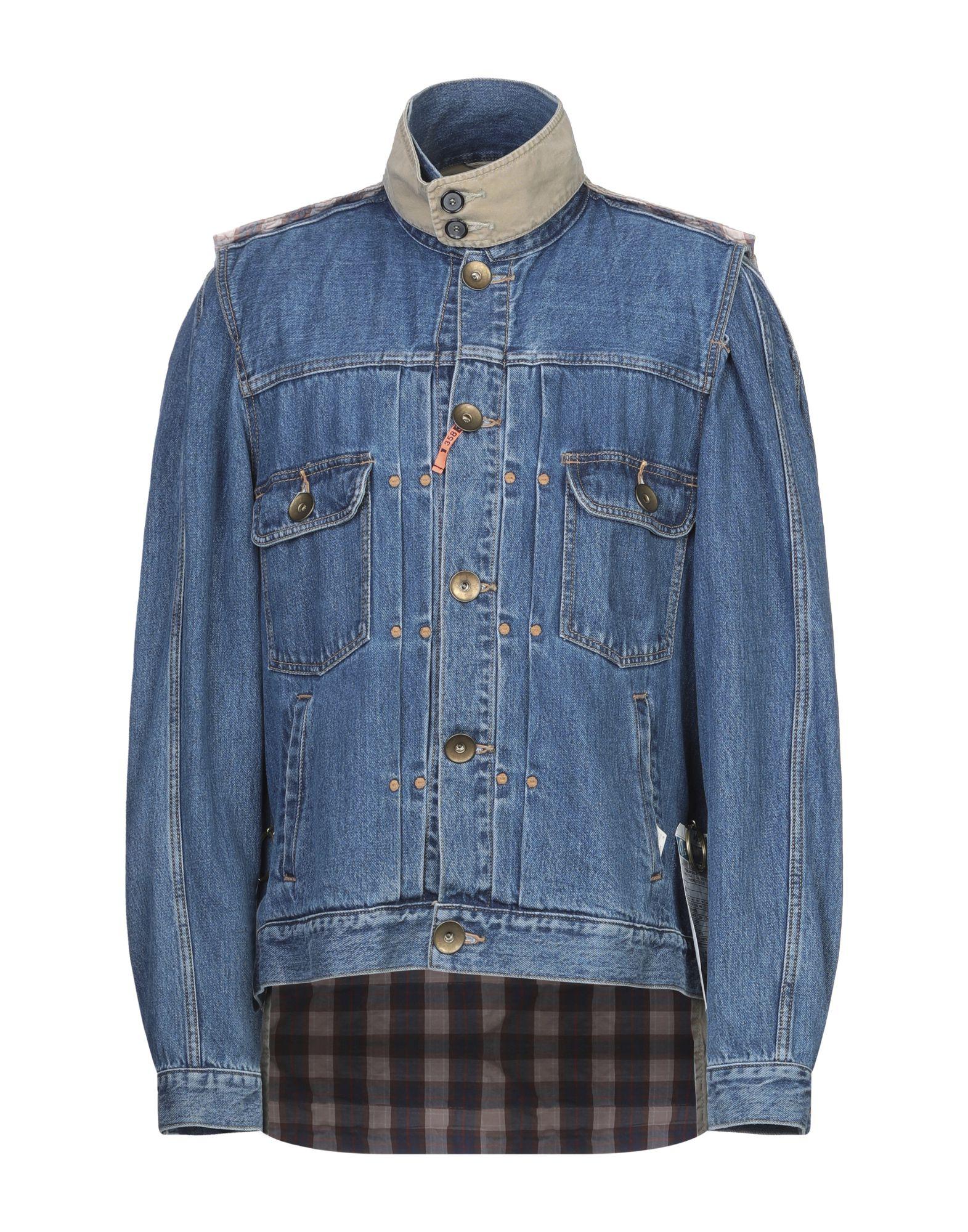 MIHARAYASUHIRO Джинсовая верхняя одежда