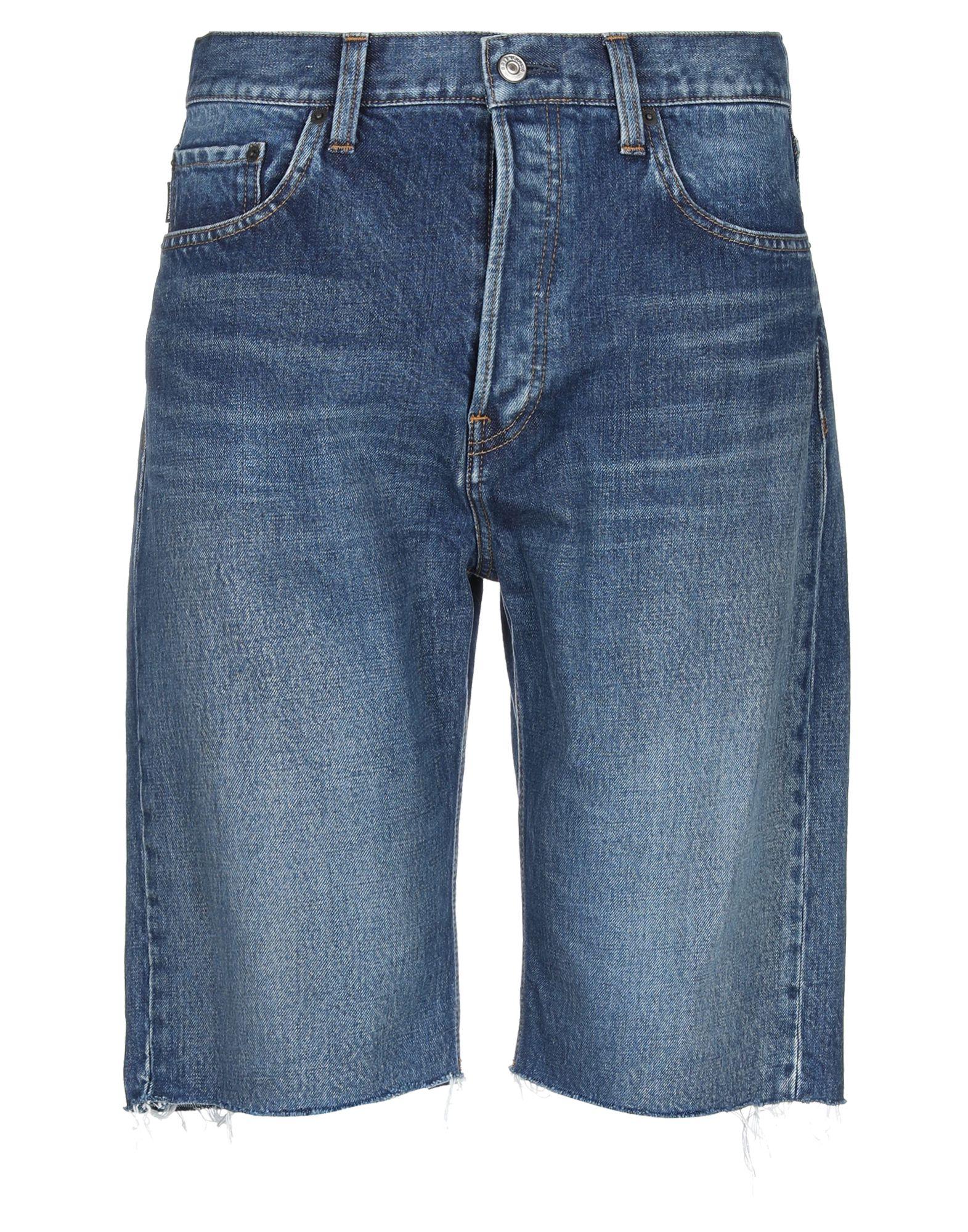 《セール開催中》BALENCIAGA メンズ デニムバミューダパンツ ブルー 28 コットン 100%