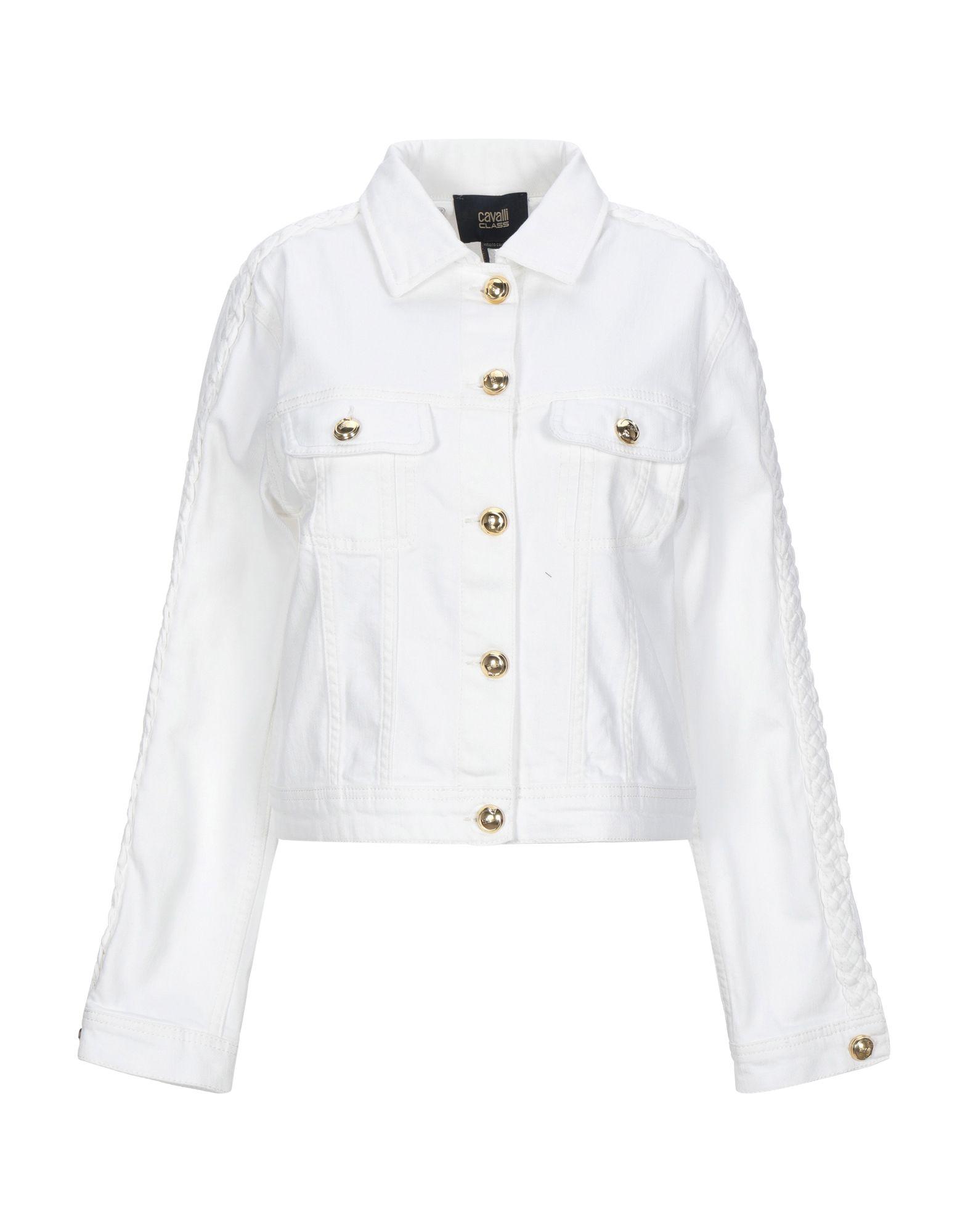 CAVALLI CLASS Джинсовая верхняя одежда just cavalli джинсовая верхняя одежда