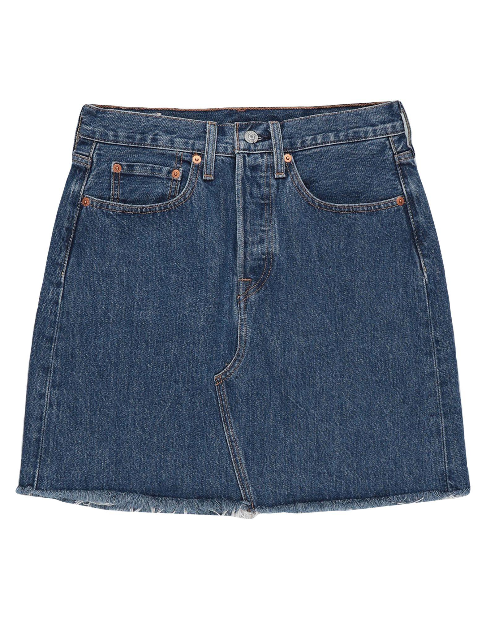 LEVI' S Джинсовая юбка джинсы женские levi s® 711 skinny цвет синий 1888102060 размер 24 32 40 32