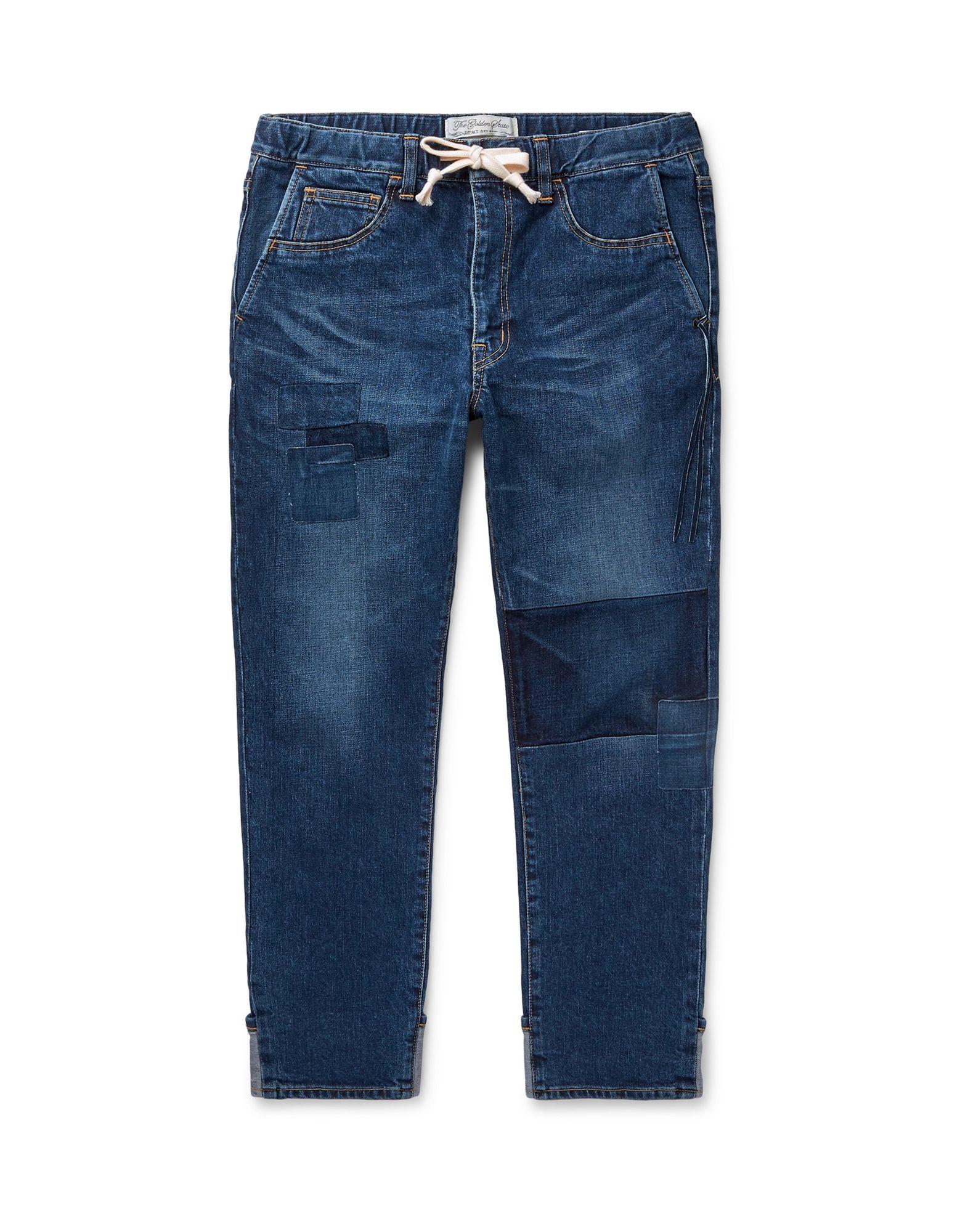 《セール開催中》REMI RELIEF メンズ ジーンズ ブルー M コットン 95% / ポリウレタン 5%