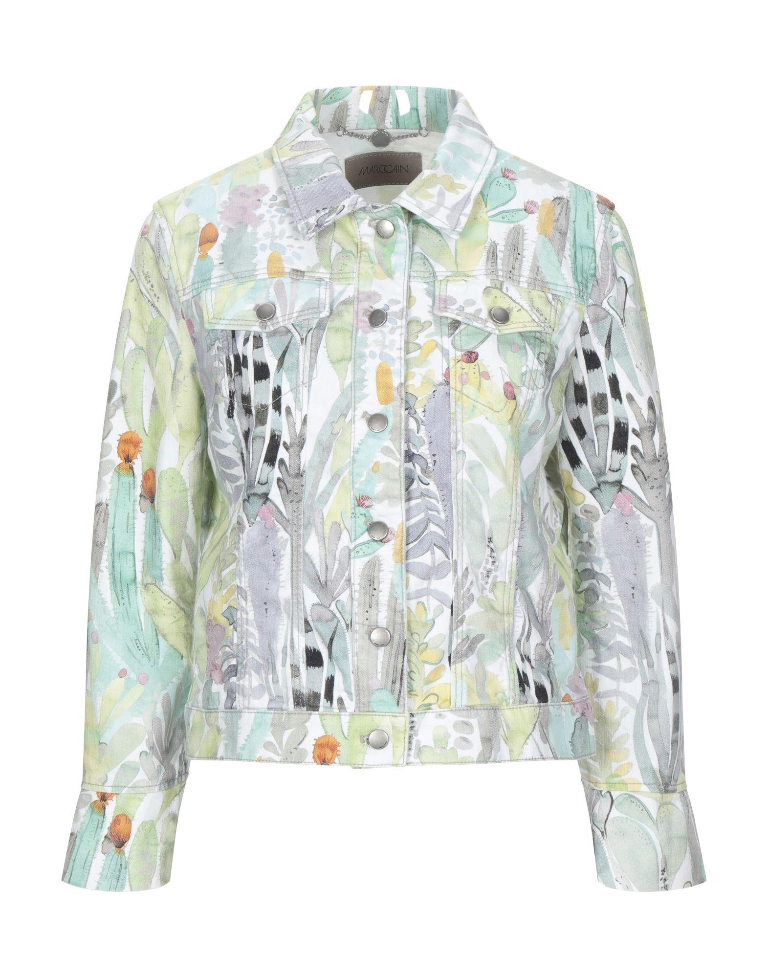 MARC CAIN Джинсовая рубашка marc cain платье marc cain 211518 серый page 2 page 4