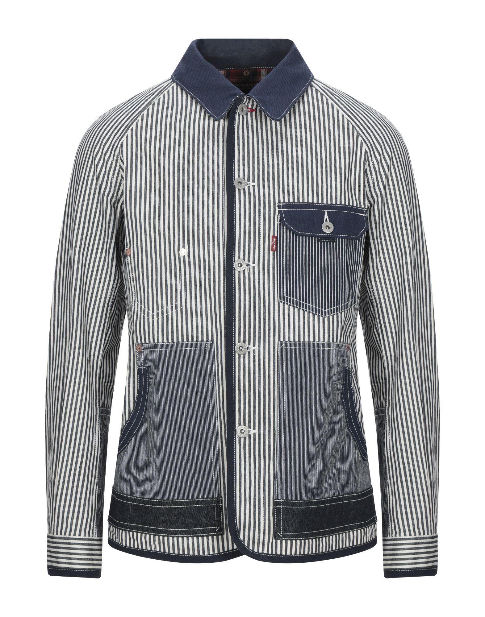 JUNYA WATANABE COMME des GARÇONS MAN X LEVI'S Джинсовая верхняя одежда все цены